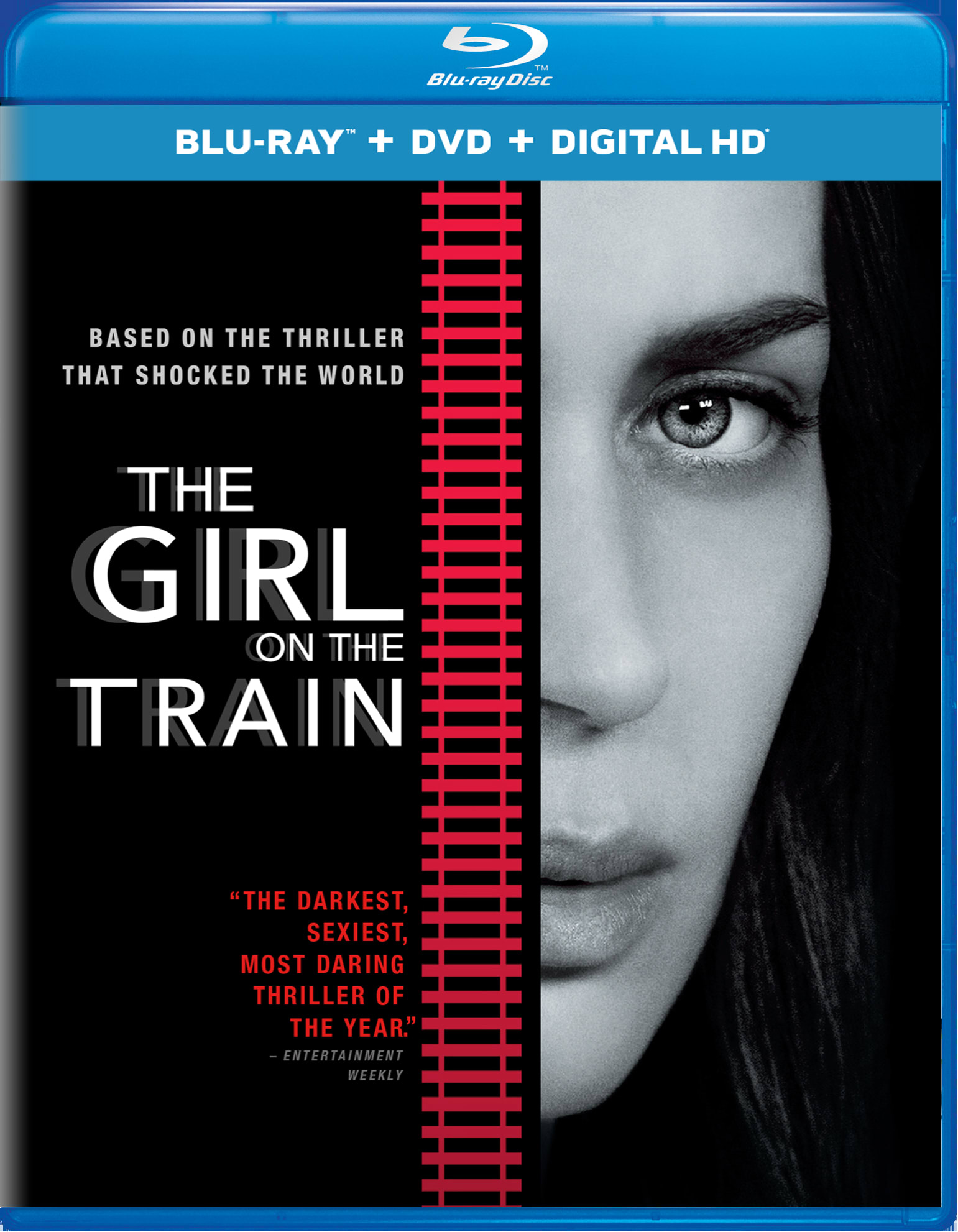 The Girl on the Train (DVD + Digital) [Blu-ray]