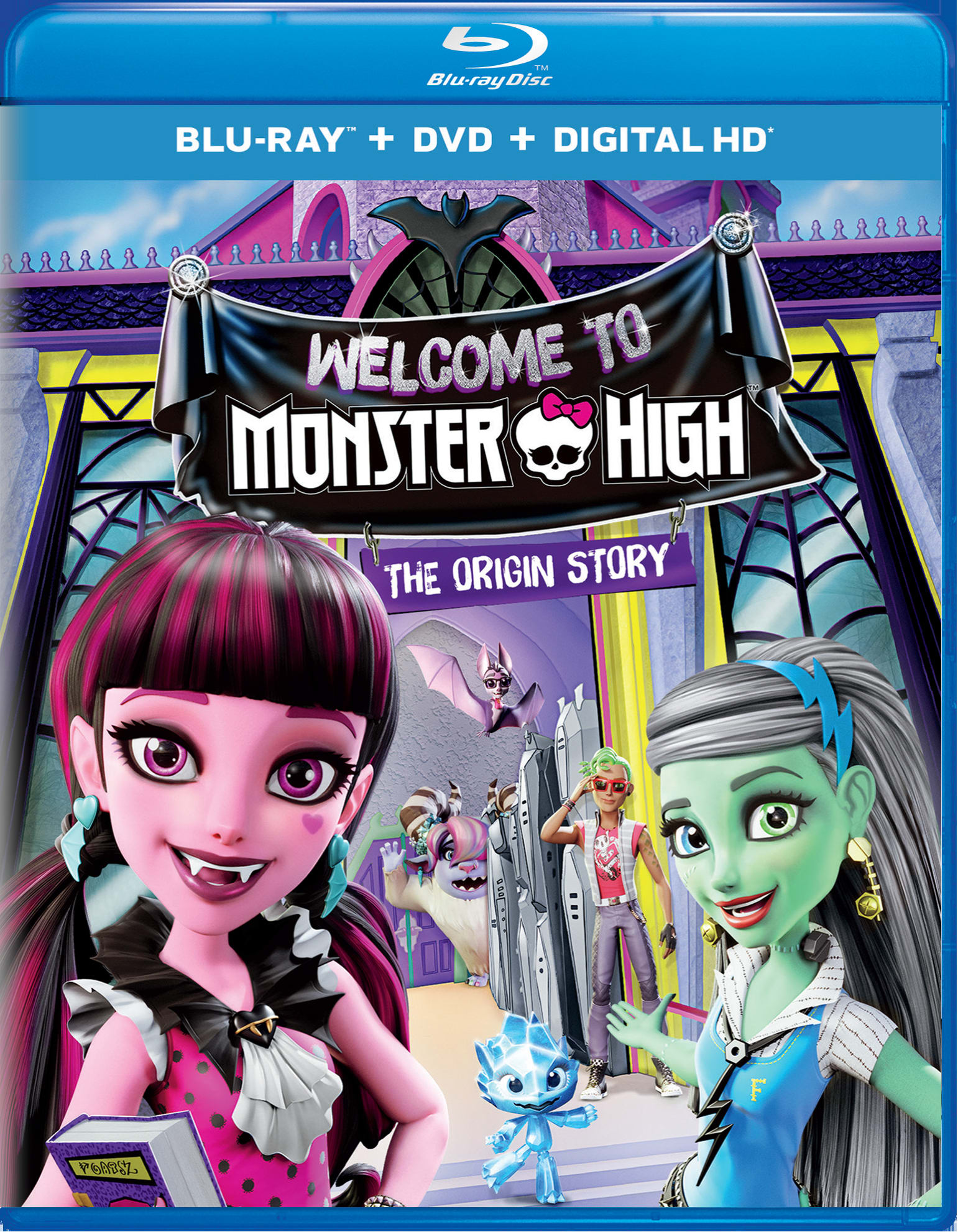 Monster High: Welcome to Monster High (DVD + Digital) [Blu-ray]