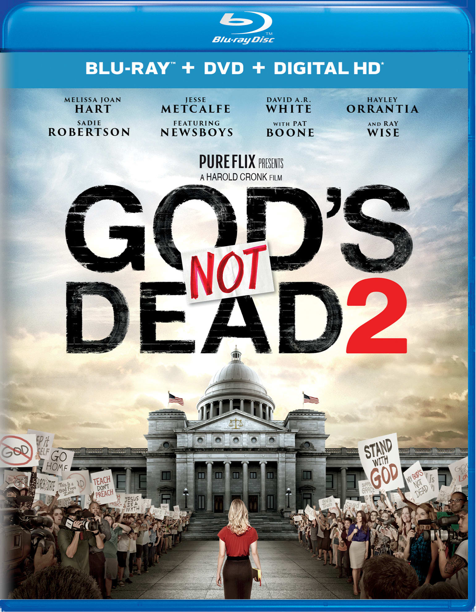 God's Not Dead 2 (DVD + Digital) [Blu-ray]