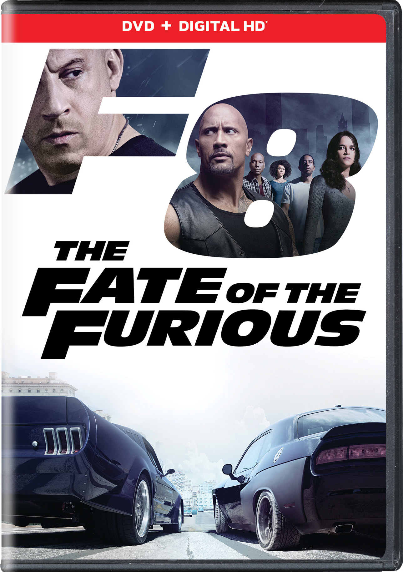 Fast & Furious 8: The Fate of the Furious (Digital) [DVD]