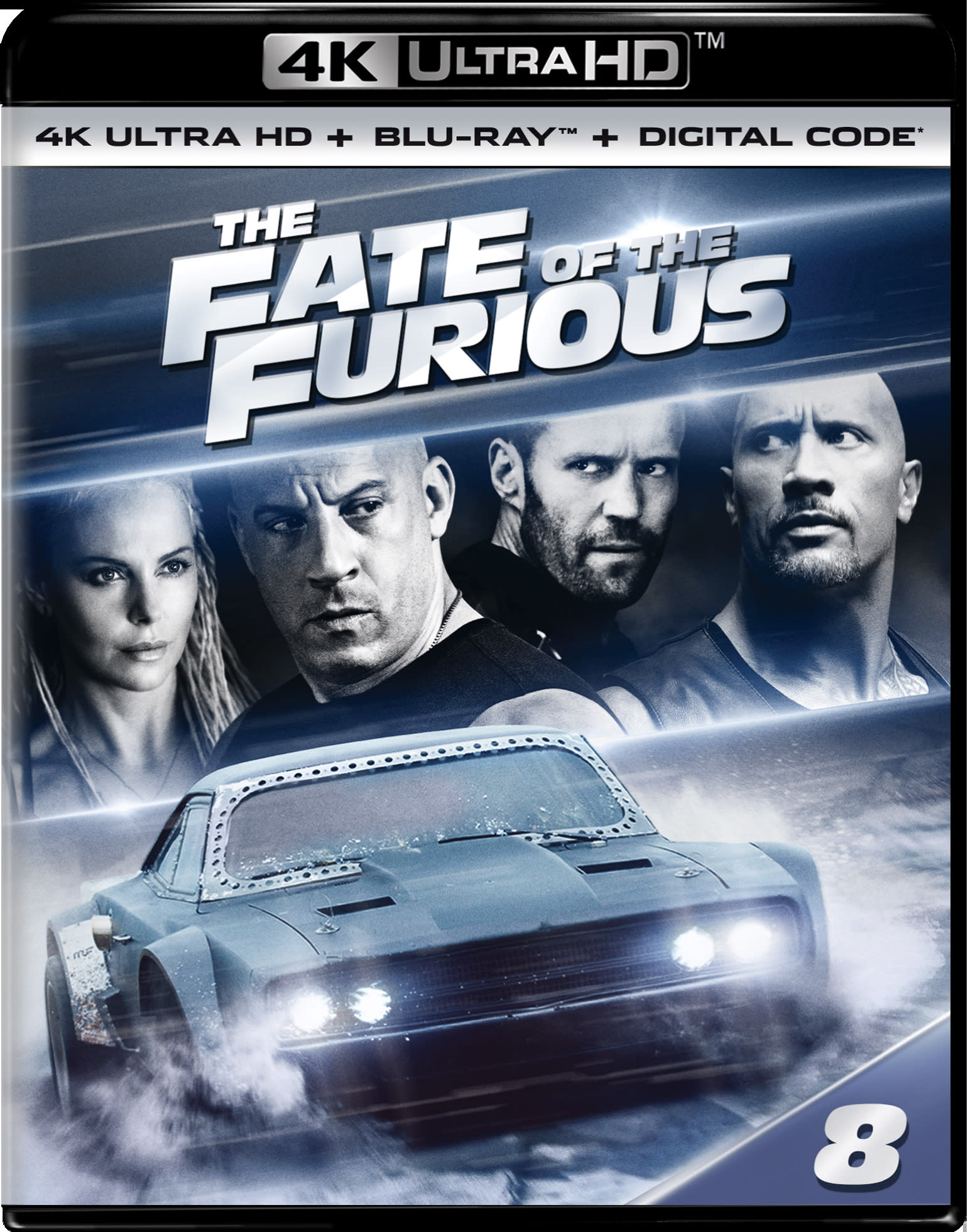 Fast & Furious 8 (4K Ultra HD) [UHD]