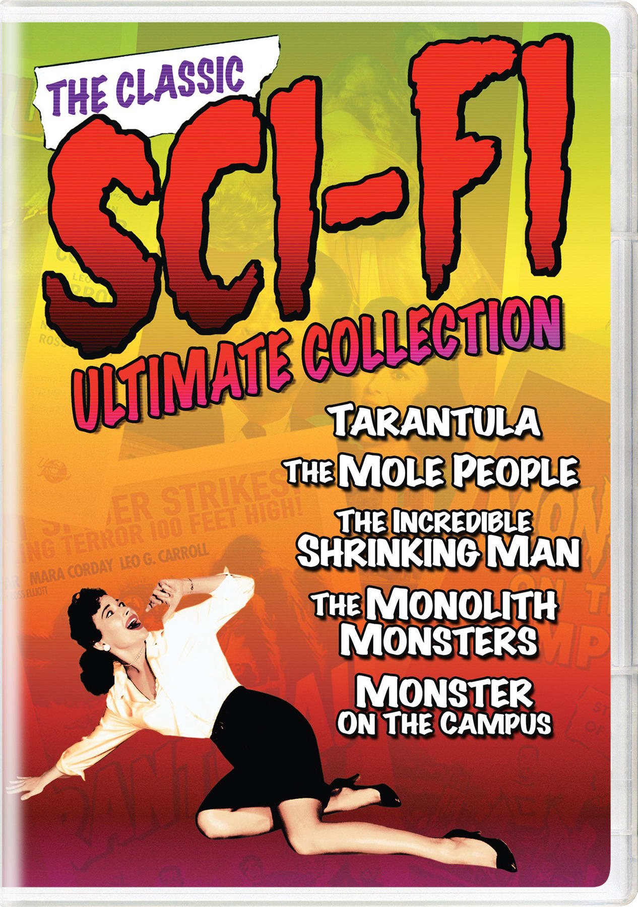 The Classic Sci-Fi Ultimate Collection (Box Set) [DVD]
