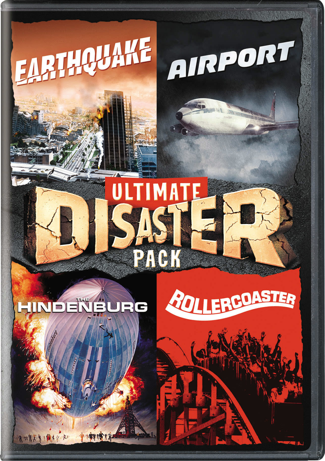 Earthquake/Airport/The Hindenburg/Rollercoaster [DVD]