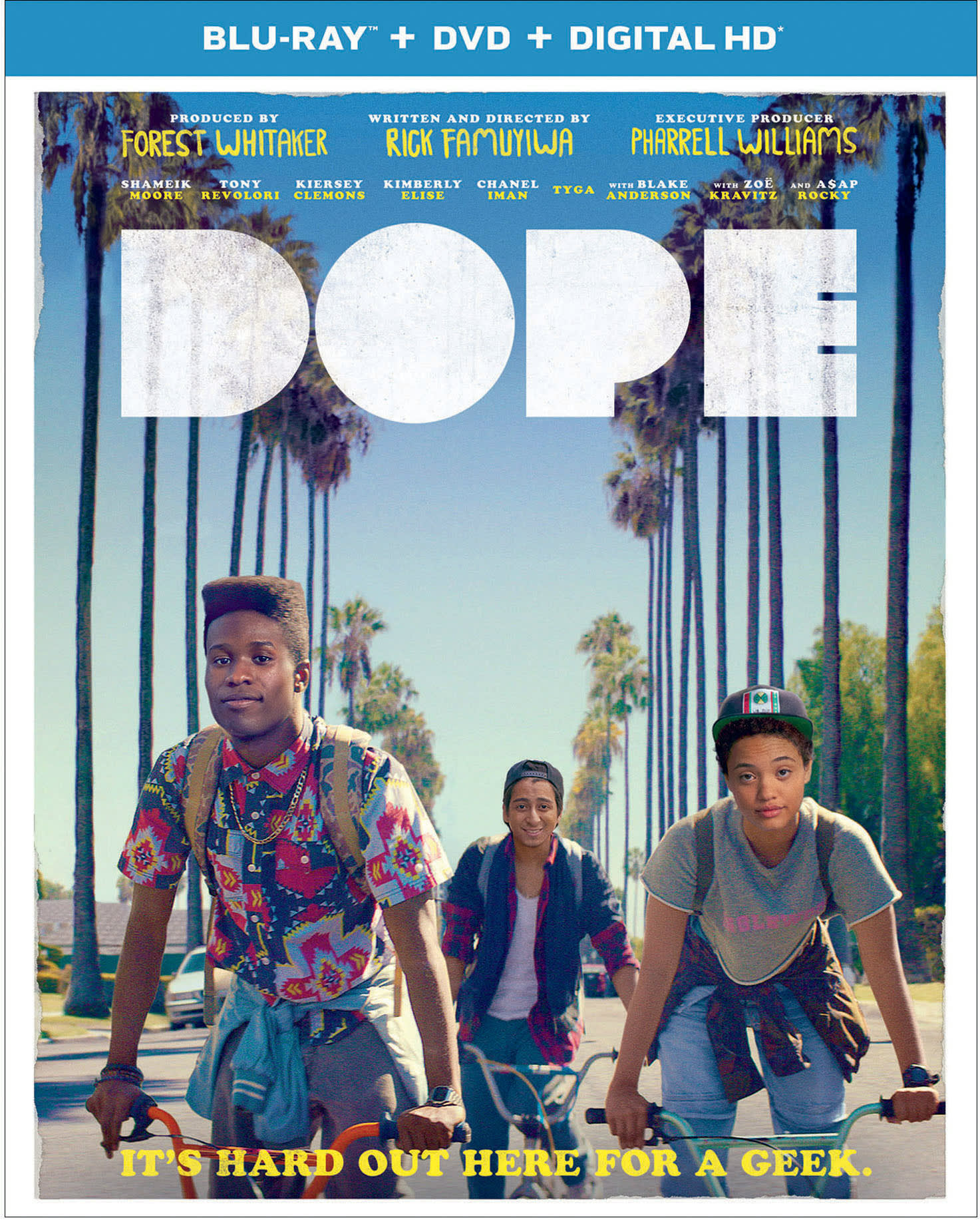 Dope (DVD + Digital + Ultraviolet) [Blu-ray]
