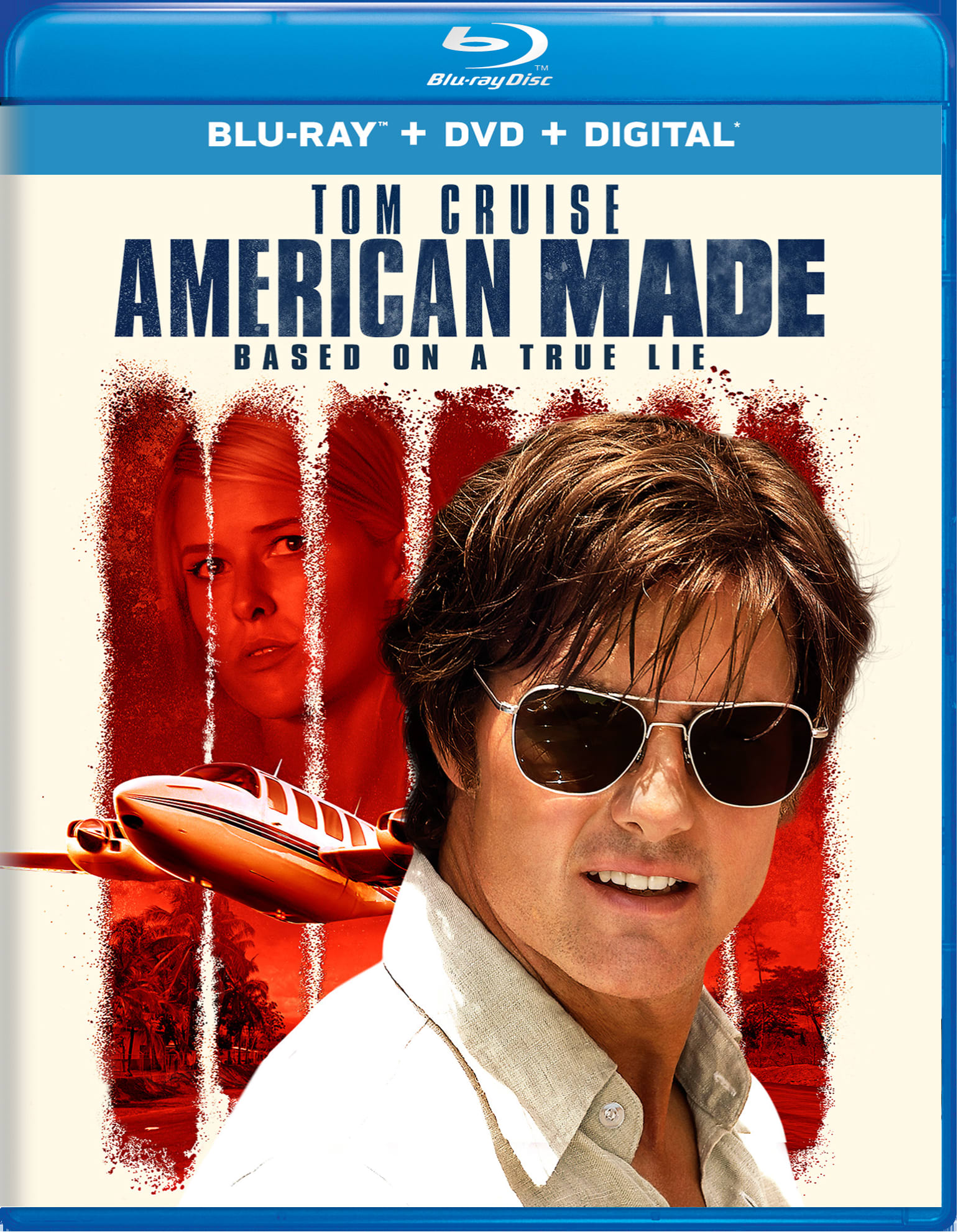 American Made (DVD + Digital) [Blu-ray]