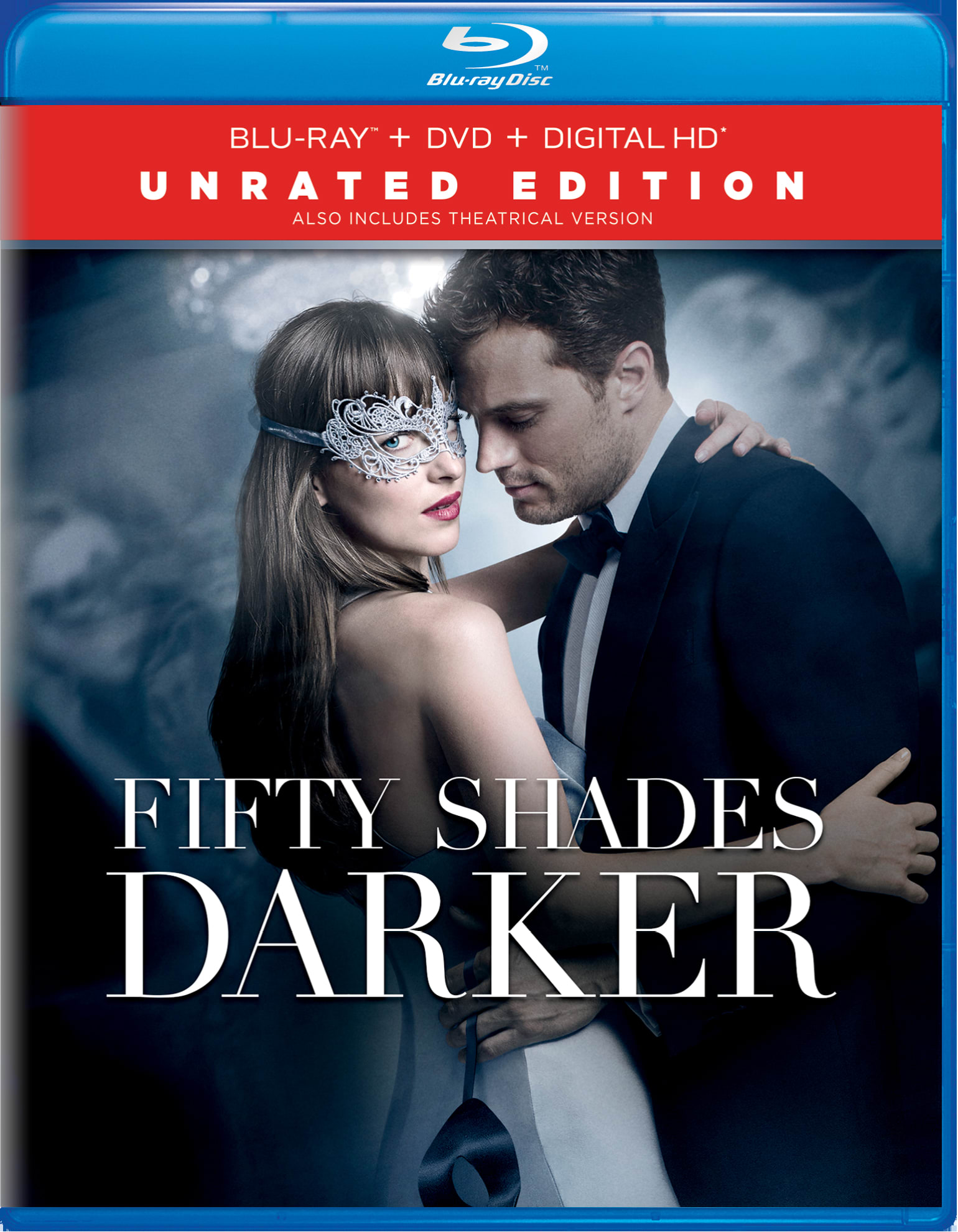 Fifty Shades Darker (Unrated Edition DVD + Digital) [Blu-ray]