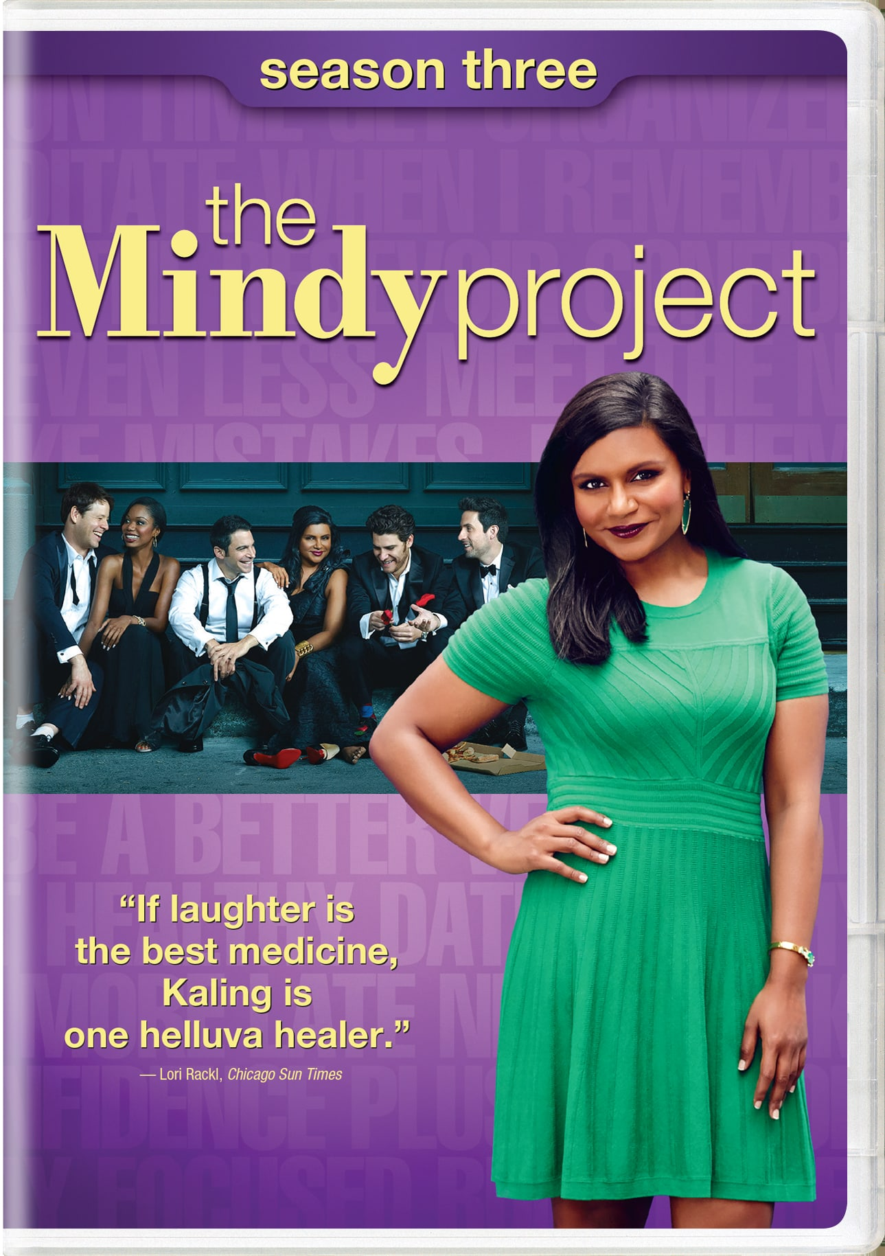 The Mindy Project: Season 3 [DVD]