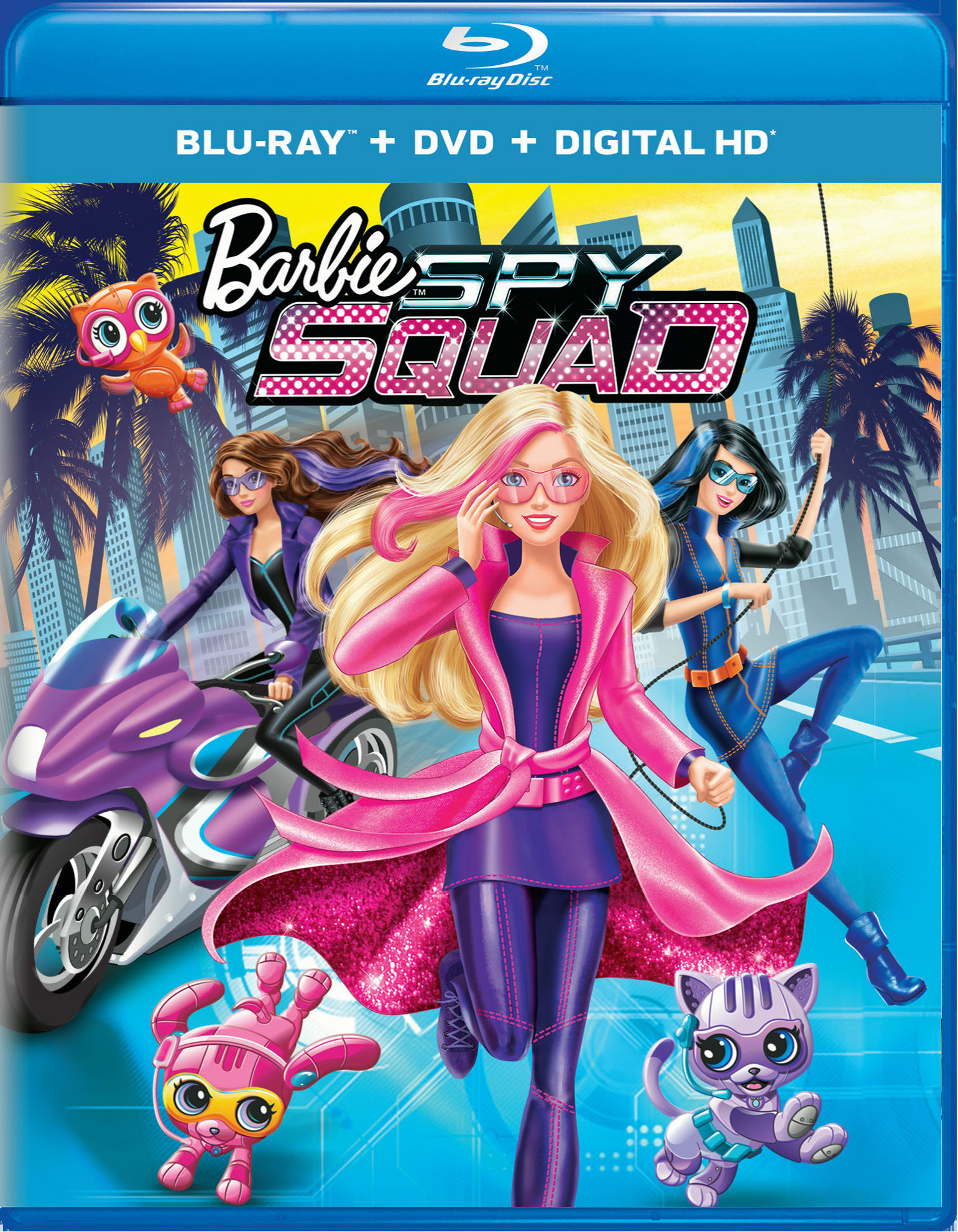 Barbie: Spy Squad (DVD + Digital) [Blu-ray]