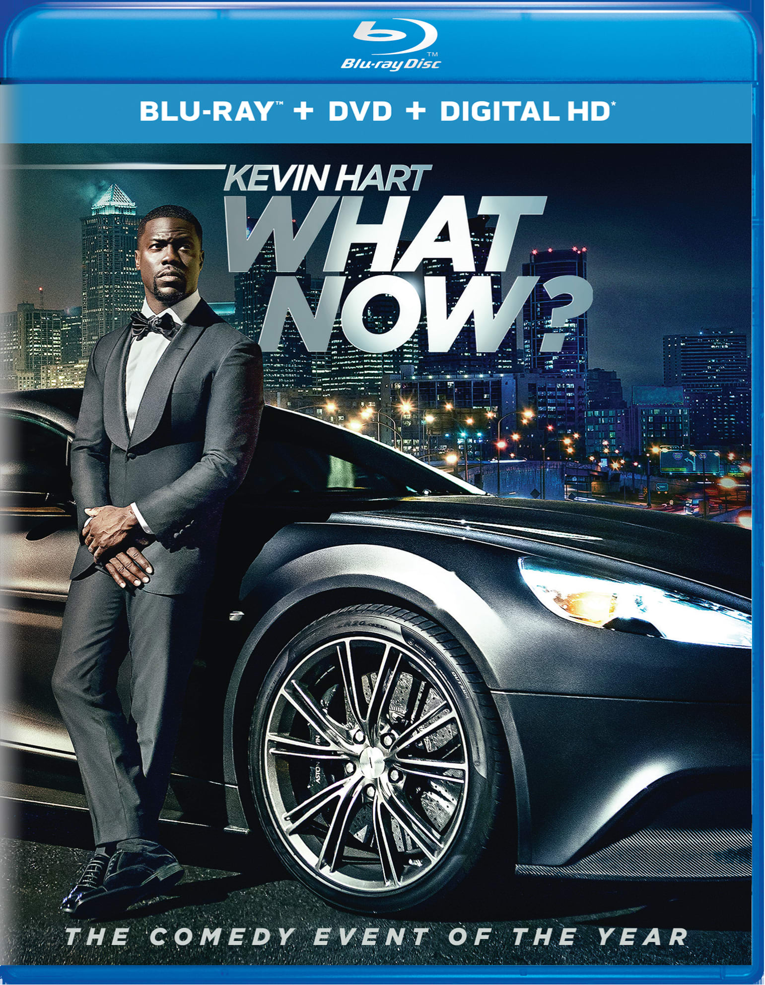 Kevin Hart - What Now? (DVD + Digital) [Blu-ray]
