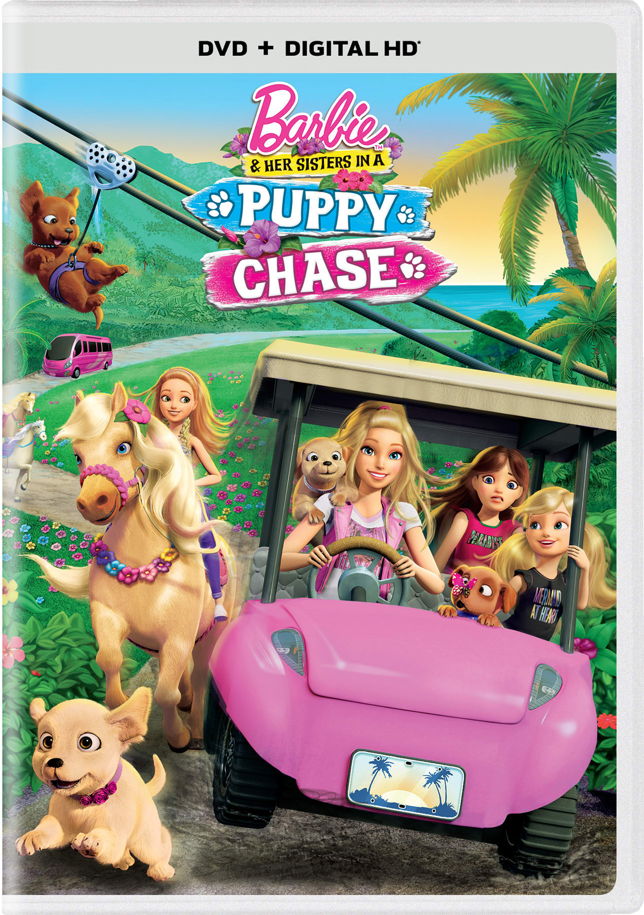 Barbie and Her Sisters in a Puppy Chase [DVD]