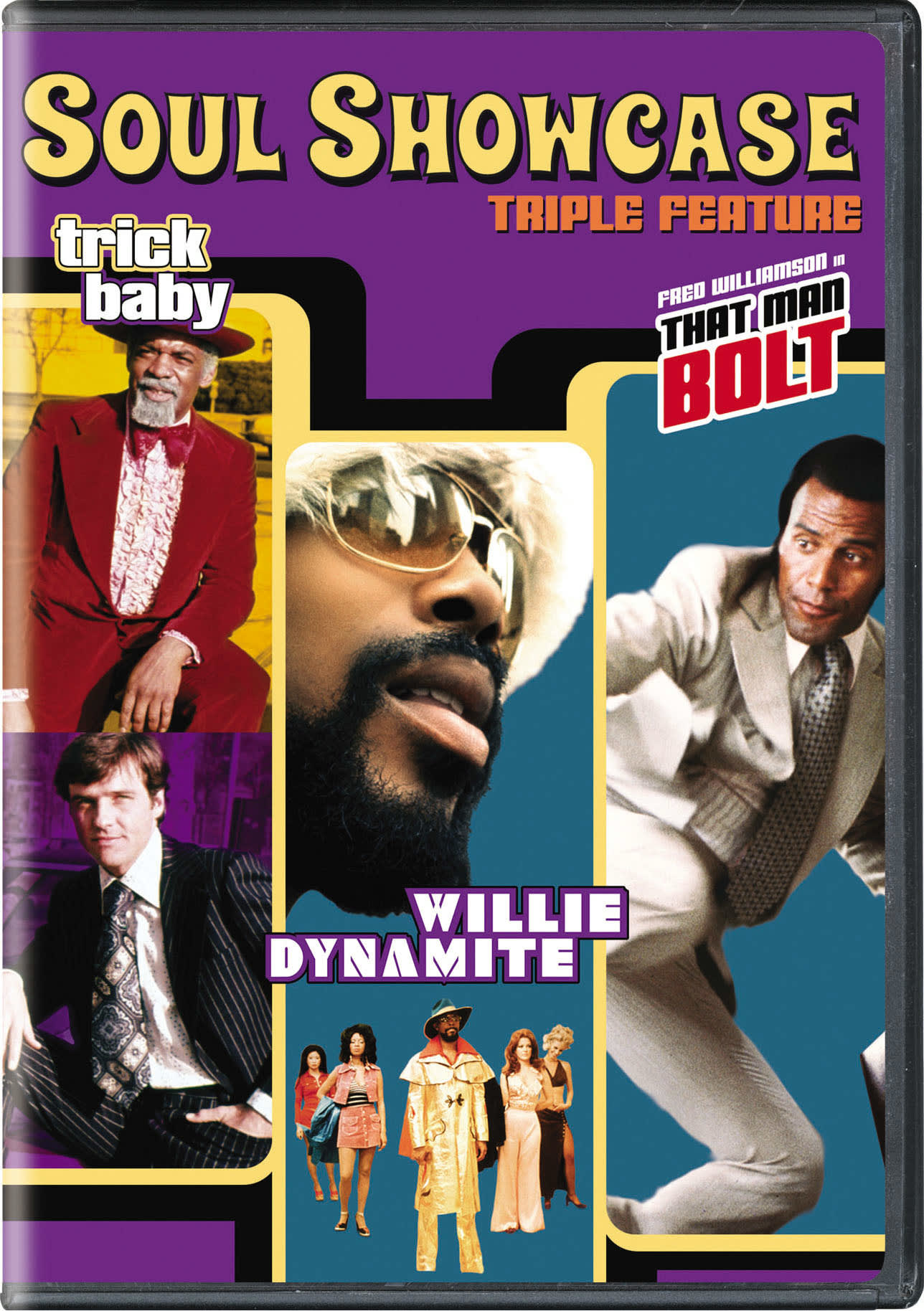 Willie Dynamite/That Man Bolt/Trick Baby [DVD]