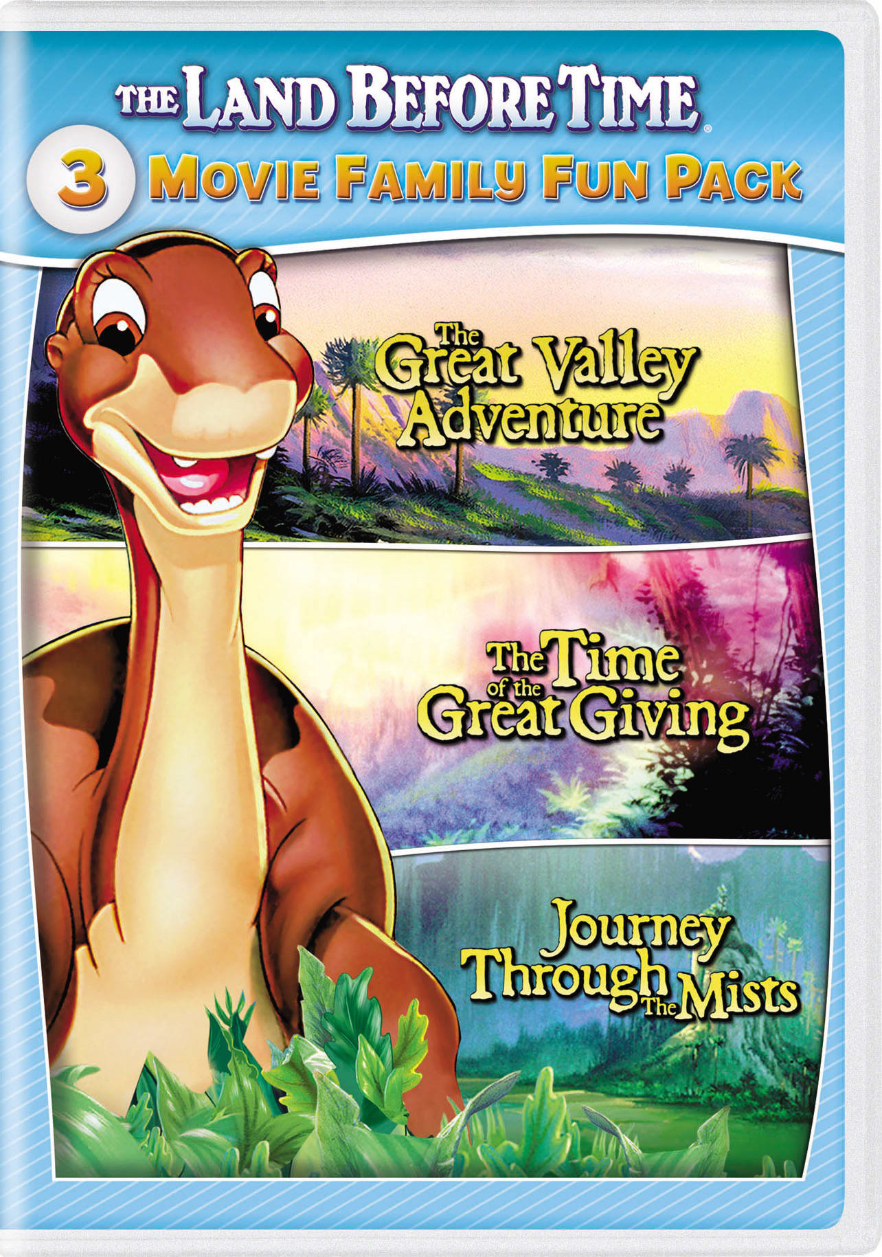 The Land Before Time II-IV [DVD]
