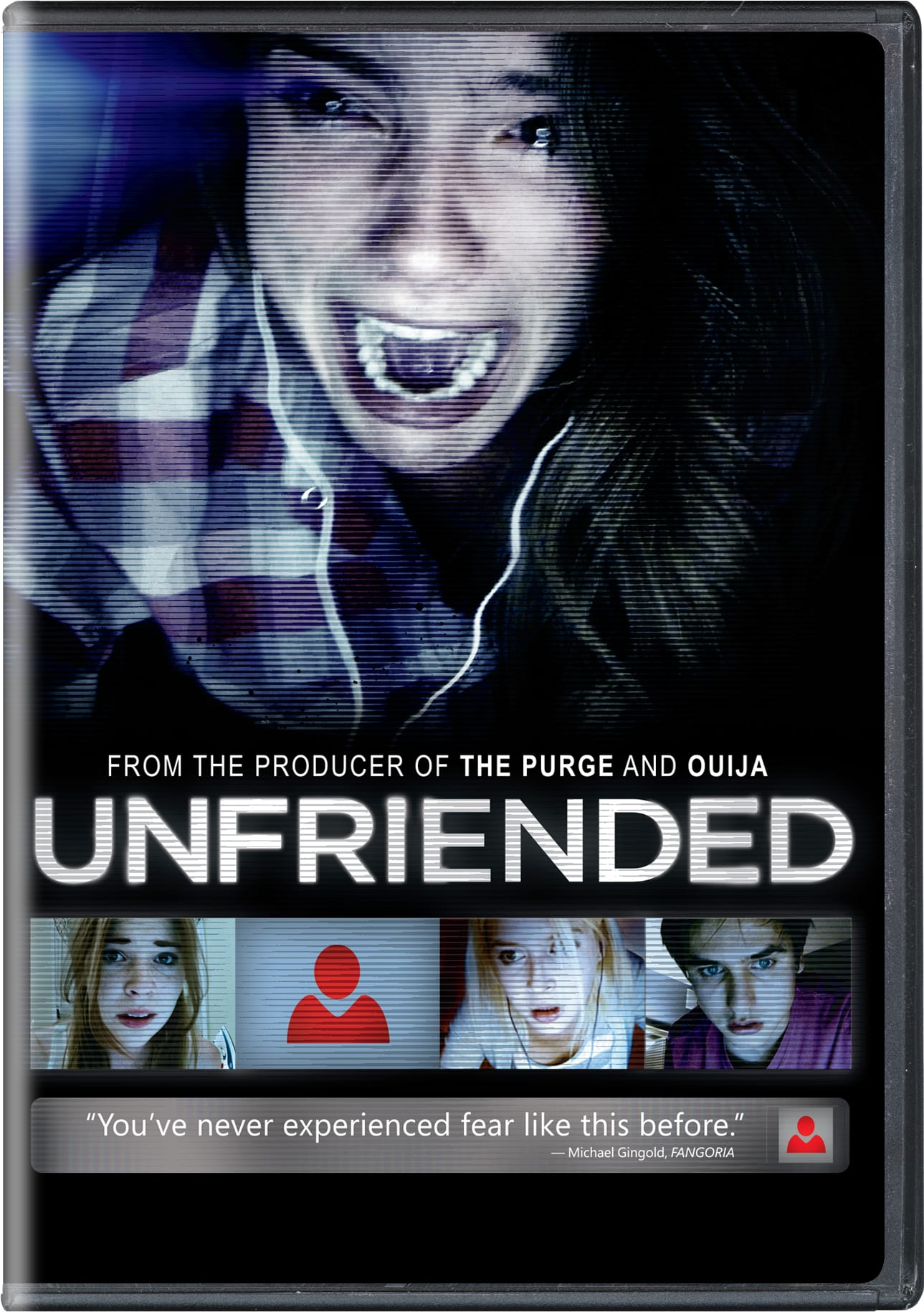 Unfriended [DVD]