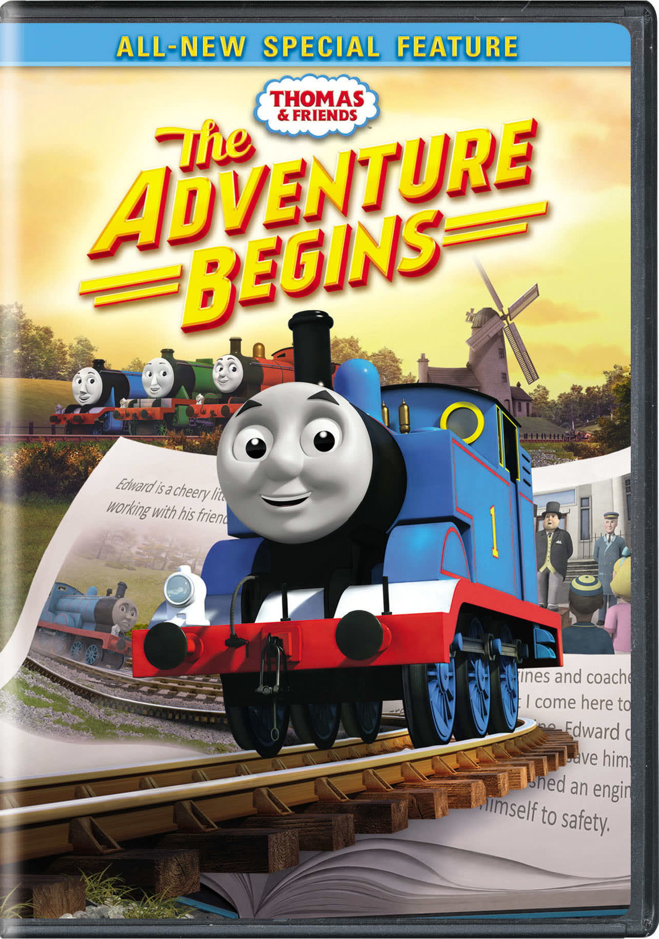 Thomas & Friends: The Adventure Begins [DVD]