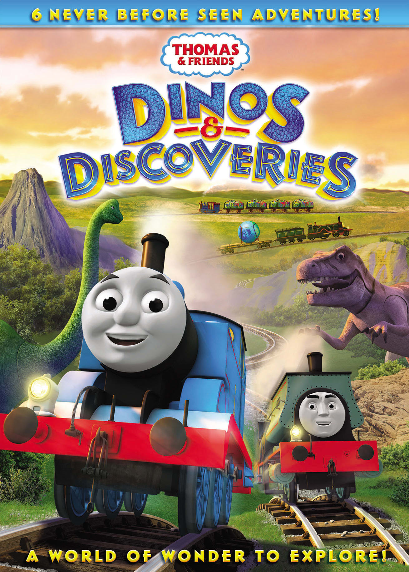 Thomas & Friends: Dinos and Discoveries [DVD]