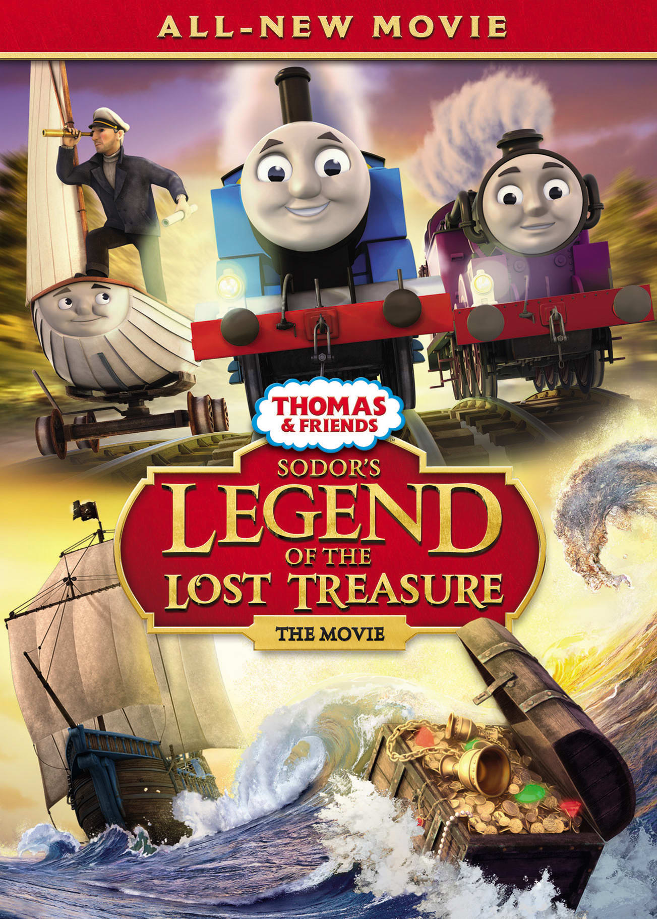 Thomas & Friends: Sodor's Legend of the Lost Treasure - The Movie [DVD]