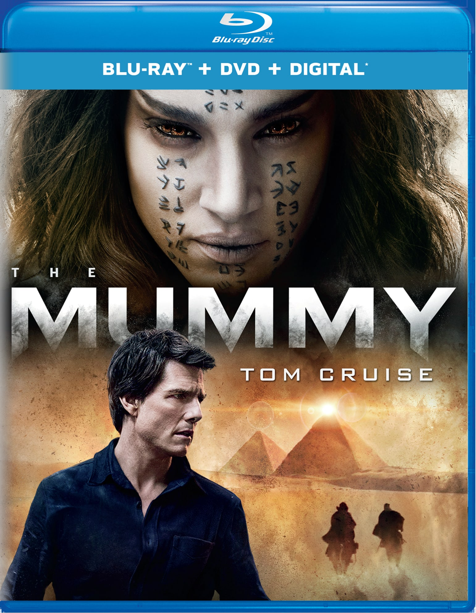 The Mummy (2017) (DVD + Digital) [Blu-ray]