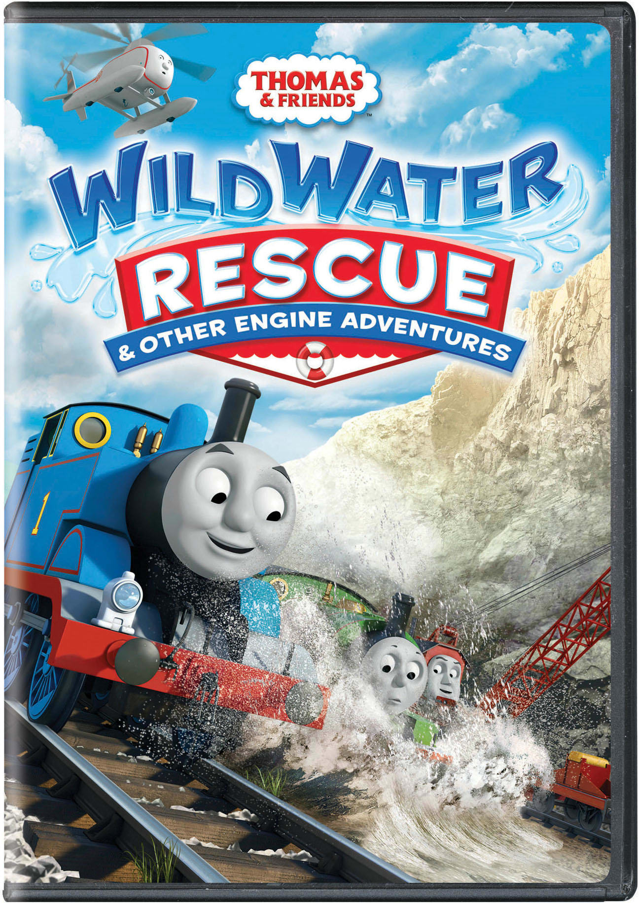Thomas & Friends: Wild Water Rescue & Other Engine Adventures [DVD]