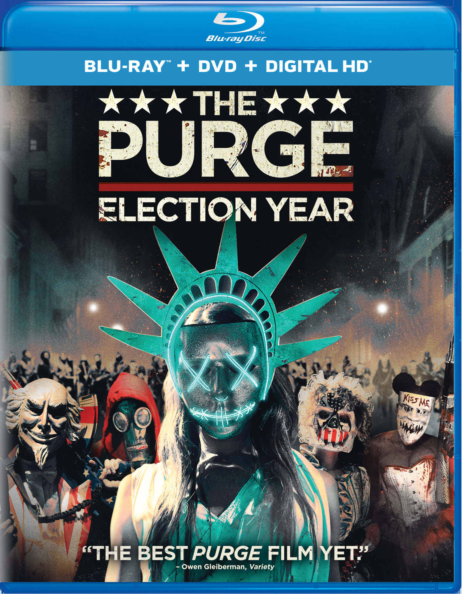 The Purge: Election Year (DVD + Digital) [Blu-ray]