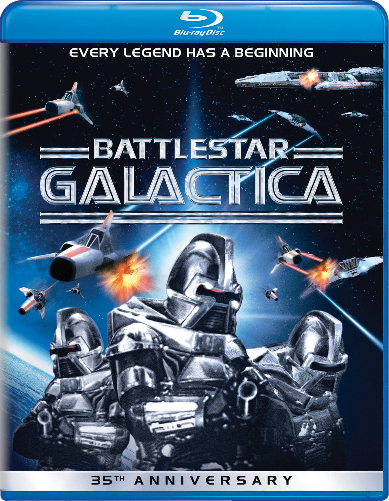 Battlestar Galactica (35th Anniversary Edition) [Blu-ray]