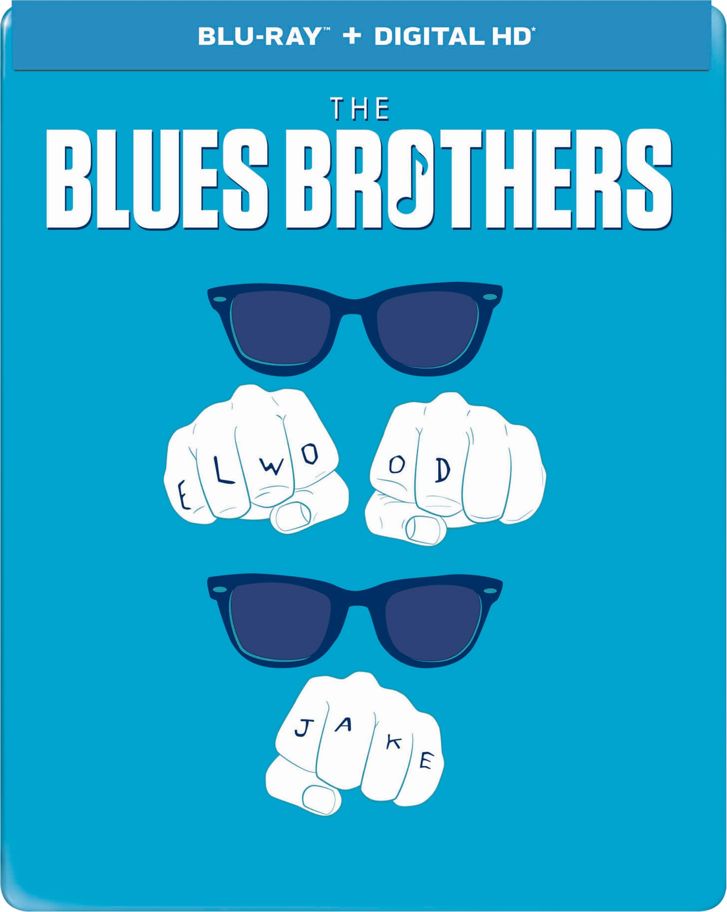 The Blues Brothers (Limited Edition Steelbook) [Blu-ray]