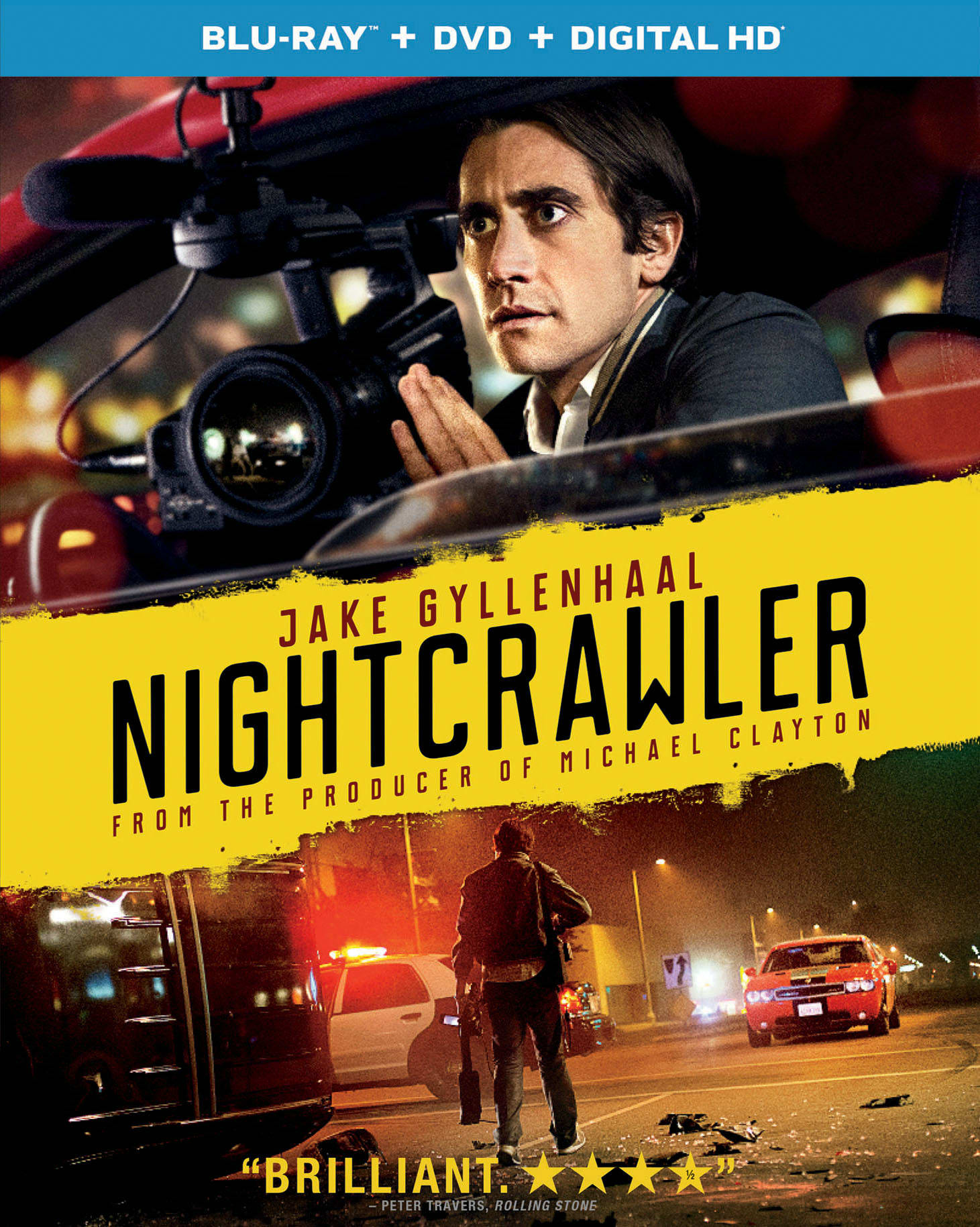 Nightcrawler (DVD + Digital) [Blu-ray]