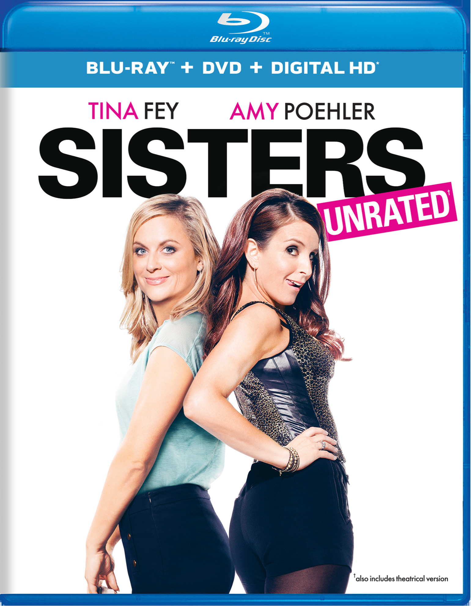 Sisters (Unrated Edition DVD + Digital) [Blu-ray]