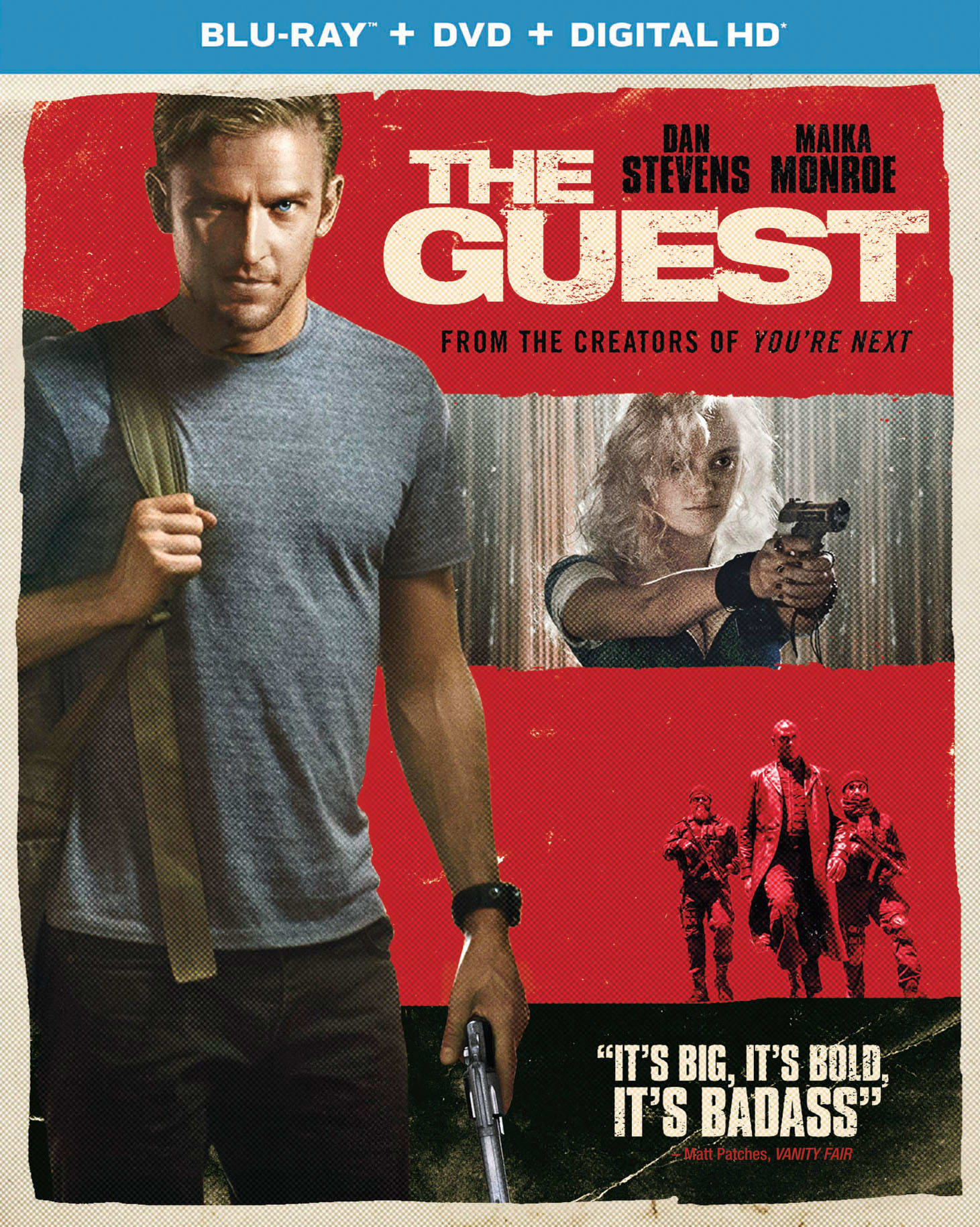 The Guest (DVD + Digital) [Blu-ray]