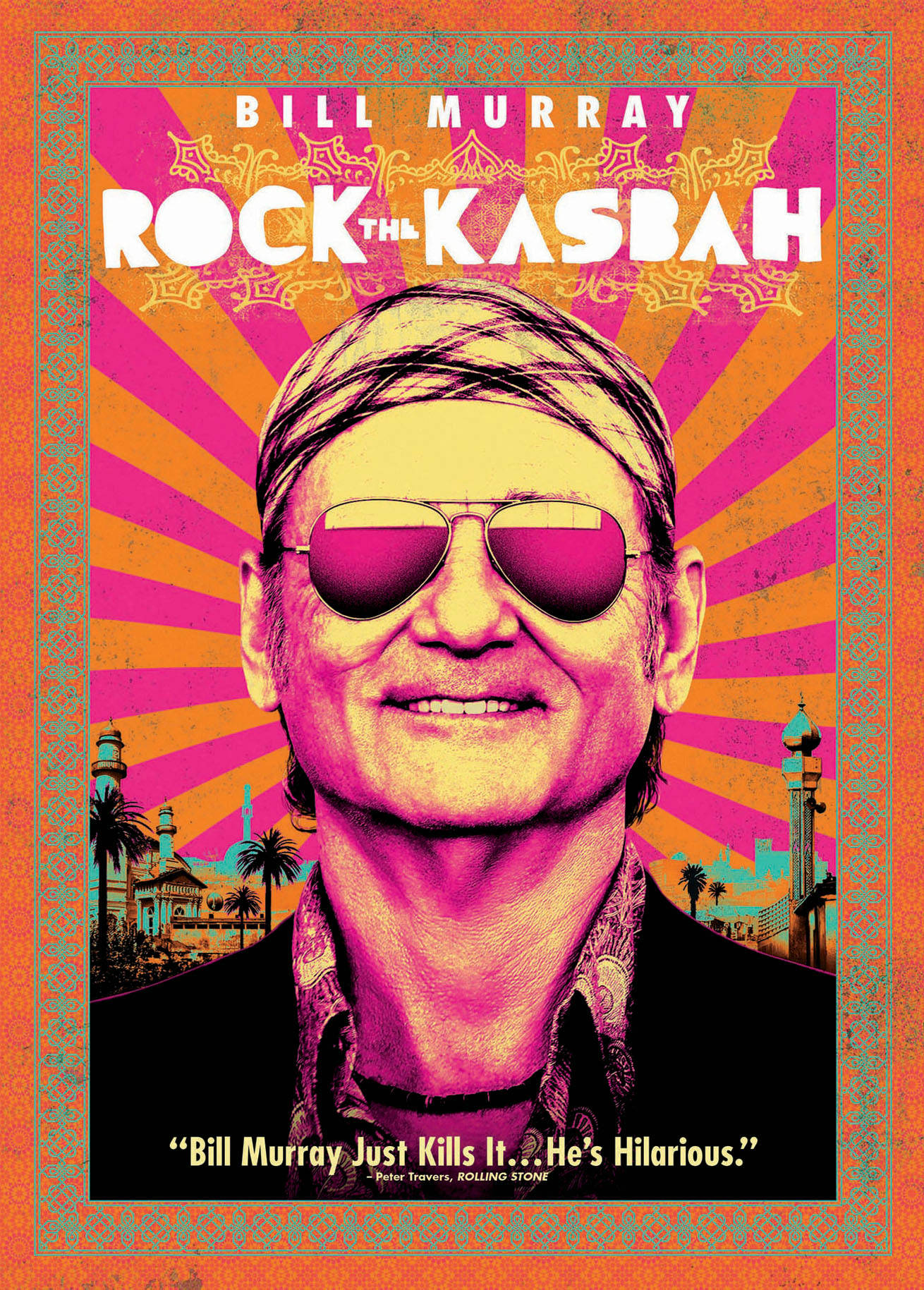 Rock the Kasbah [DVD]