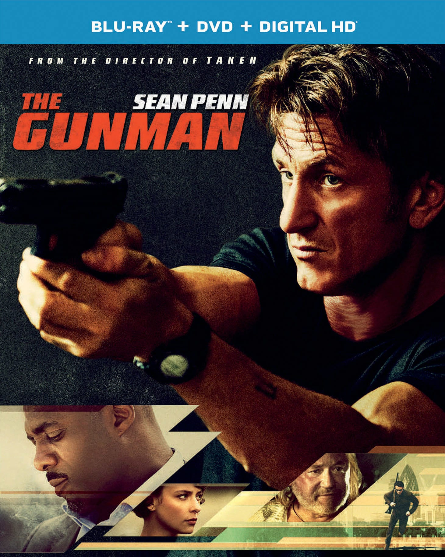 The Gunman (DVD + Digital) [Blu-ray]