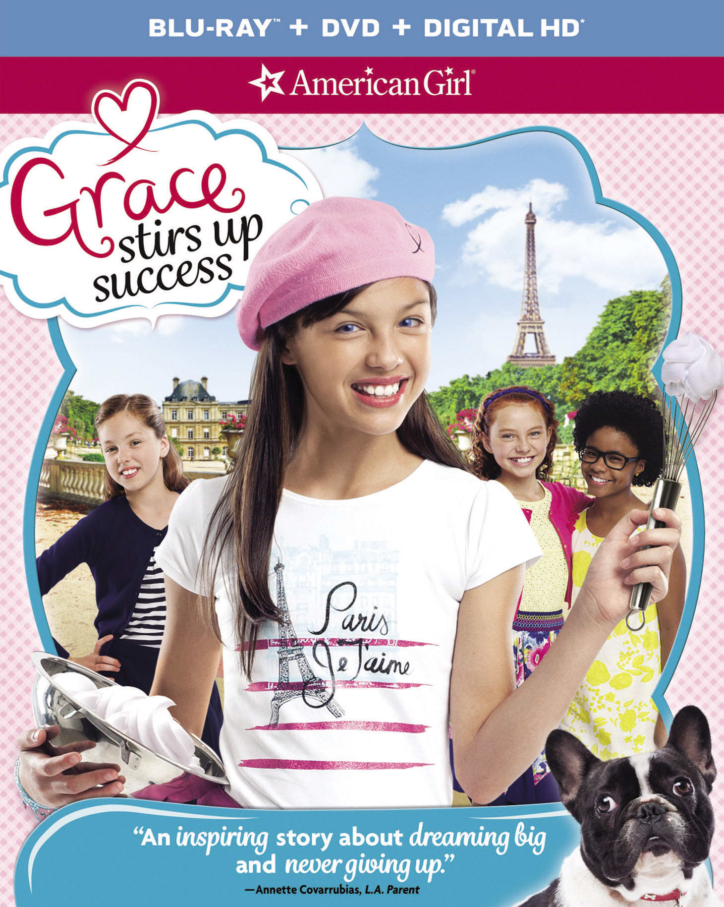 American Girl: Grace Stirs Up Success (DVD + Digital) [Blu-ray]