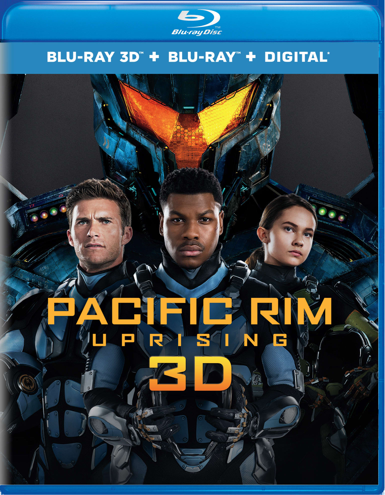 Pacific Rim - Uprising 3D (Digital) [Blu-ray]