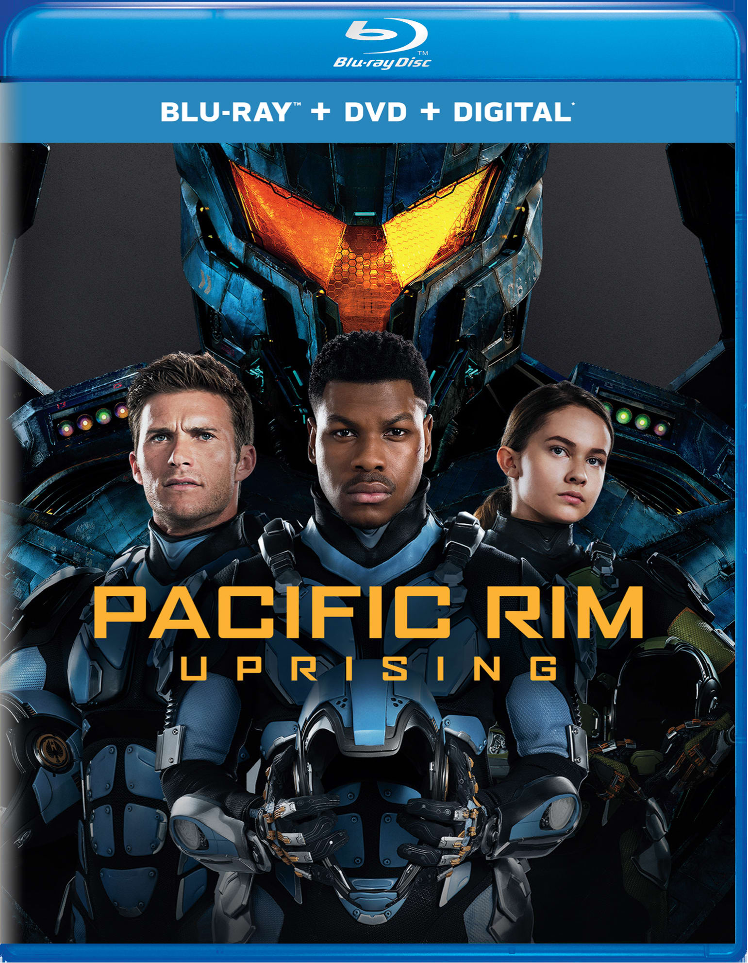 Pacific Rim - Uprising (DVD + Digital) [Blu-ray]