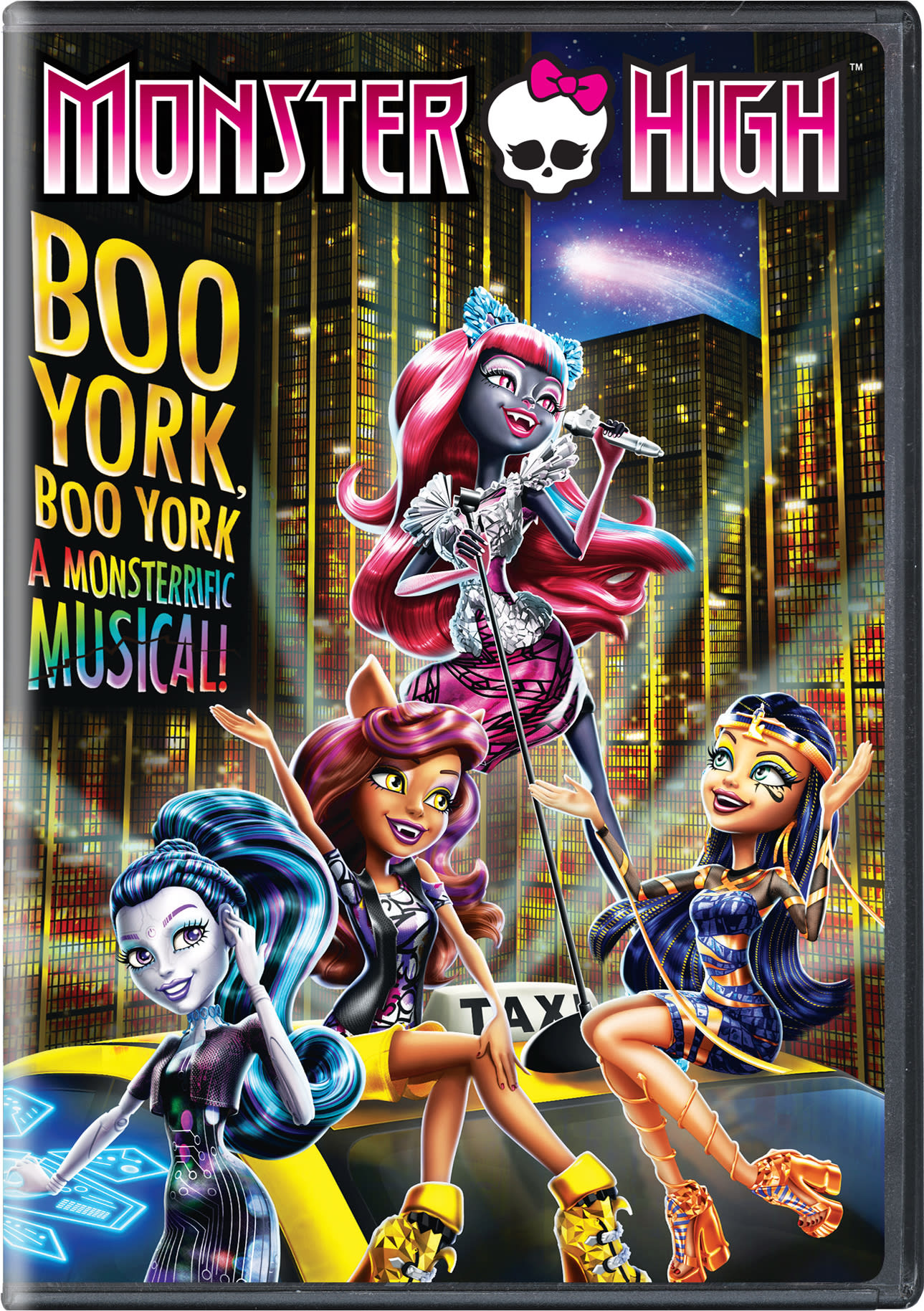 Monster High: Boo York! Boo York! [DVD]