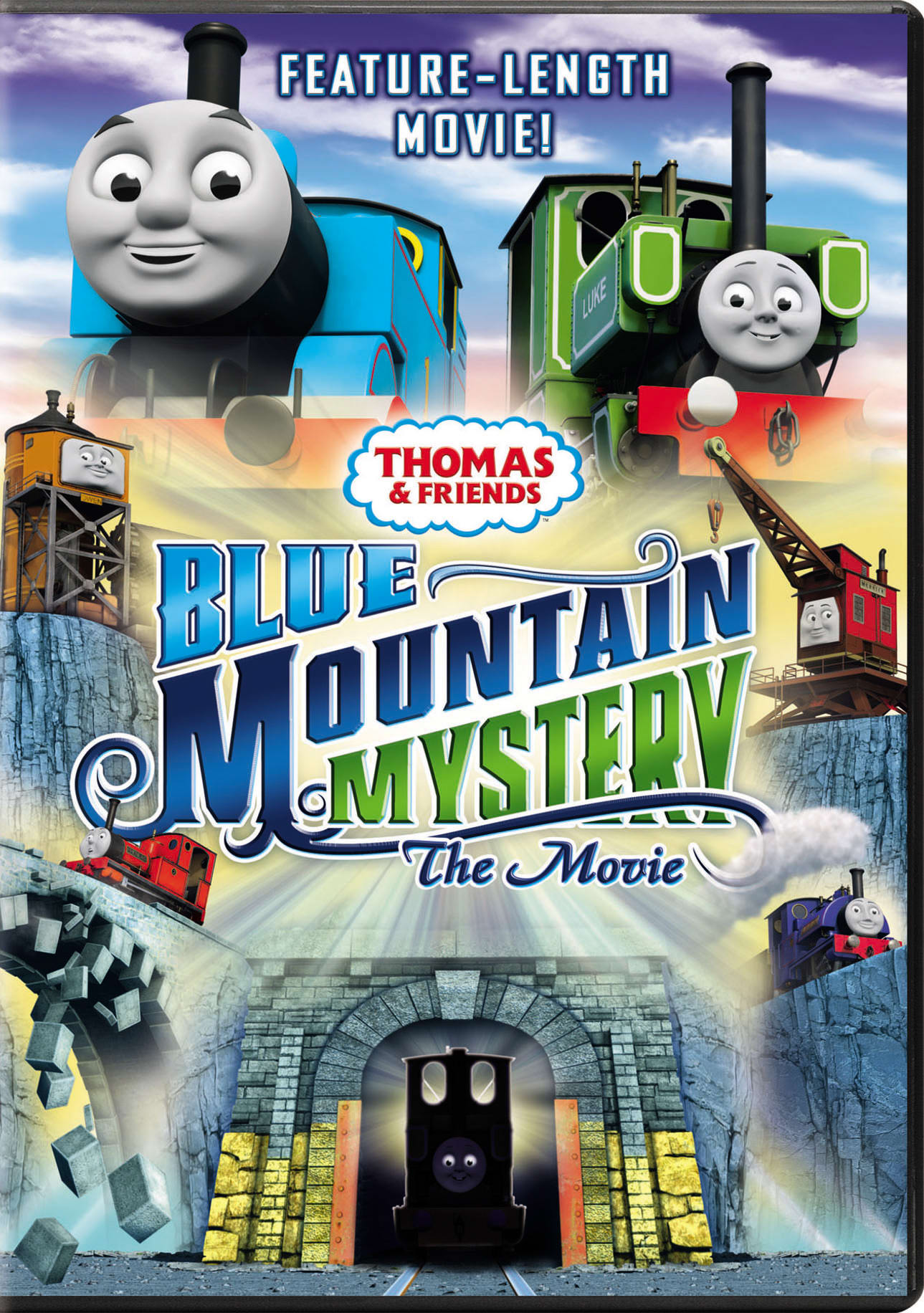 Thomas & Friends: Blue Mountain Mystery - The Movie [DVD]