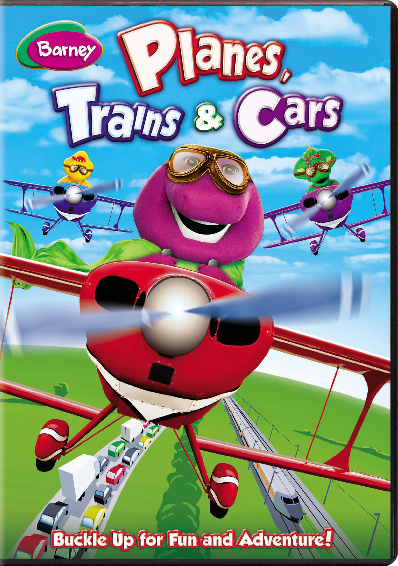 Barney: Planes, Trains and Cars [DVD]