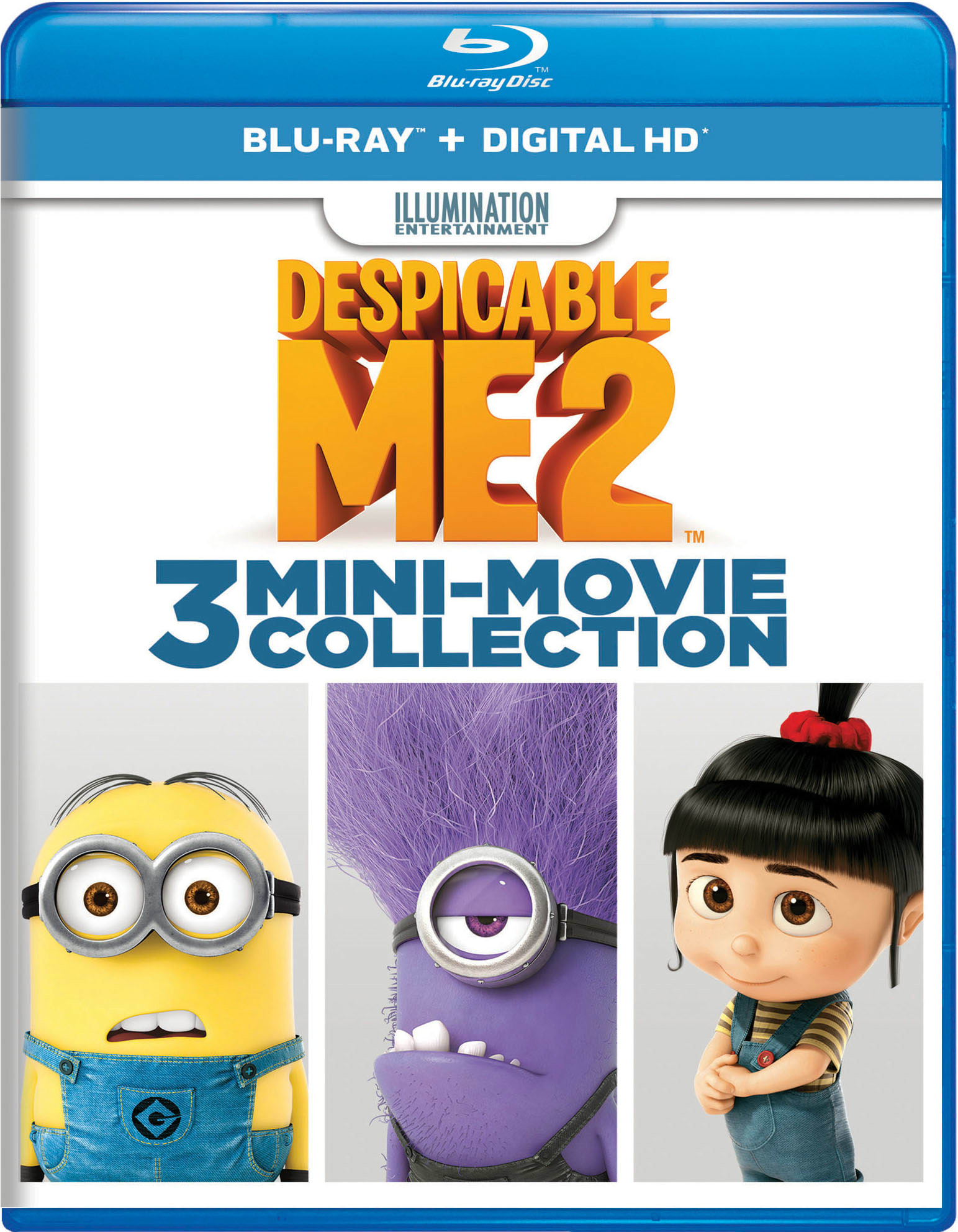 Despicable Me 2: Mini-Movie Collection [Blu-ray]
