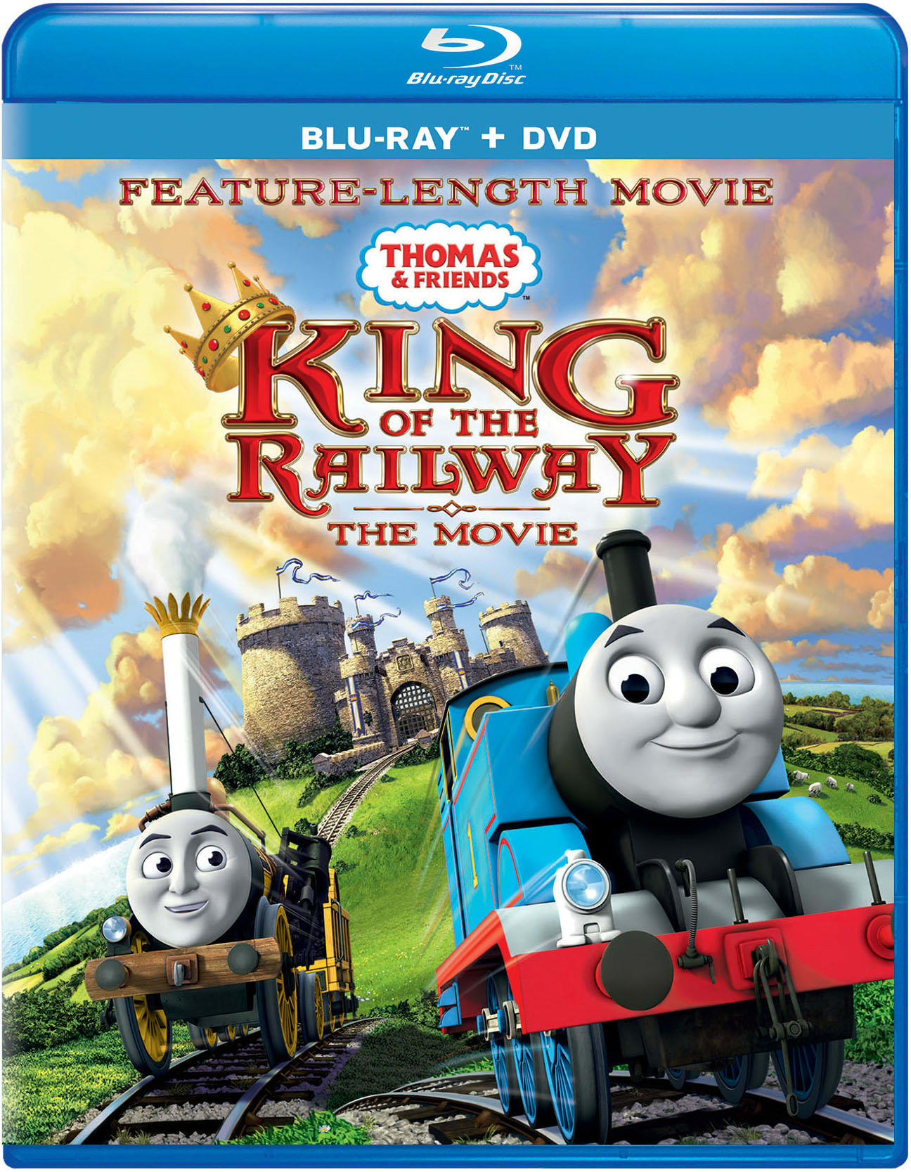 Thomas & Friends: King of the Railway - The Movie (Digital) [Blu-ray]