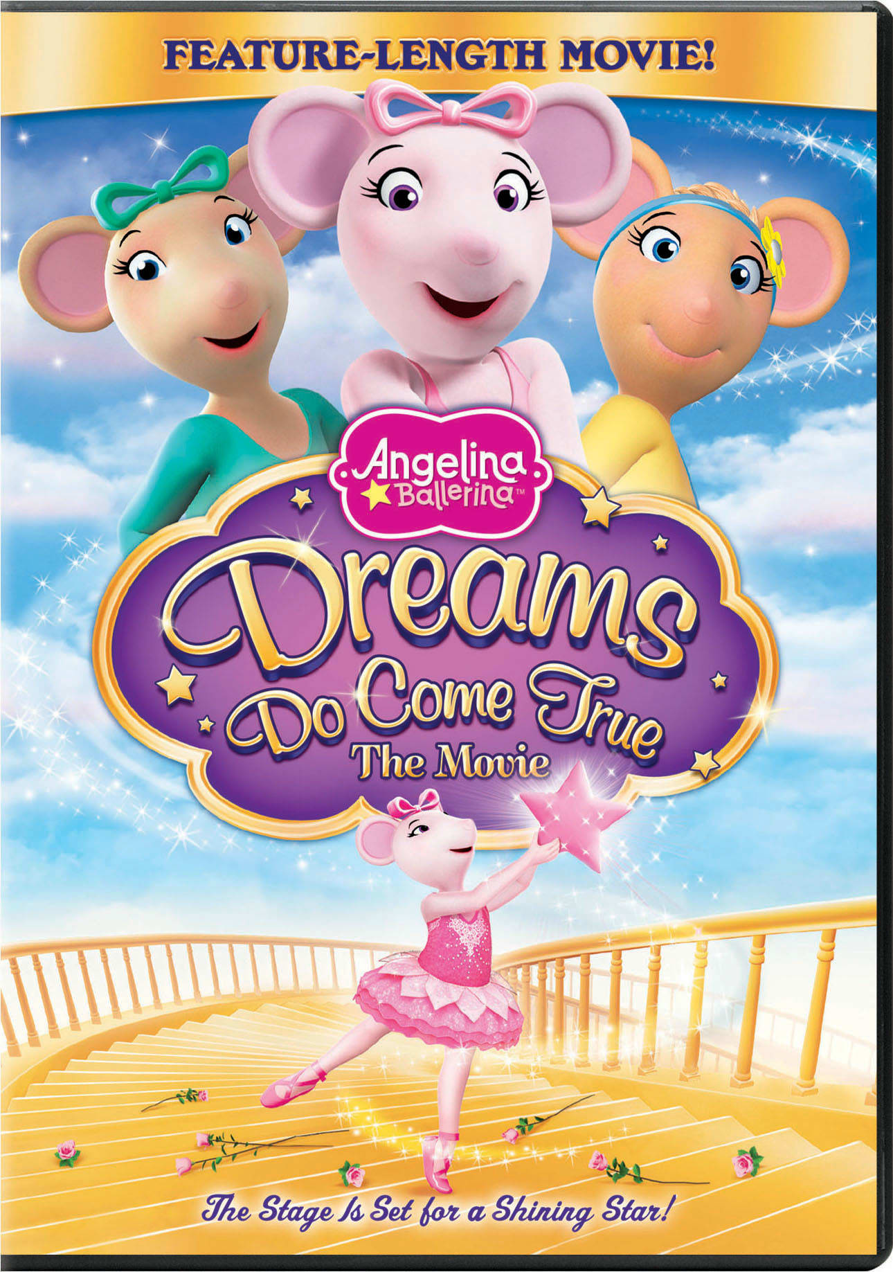 Angelina Ballerina: Dreams Do Come True - The Movie [DVD]