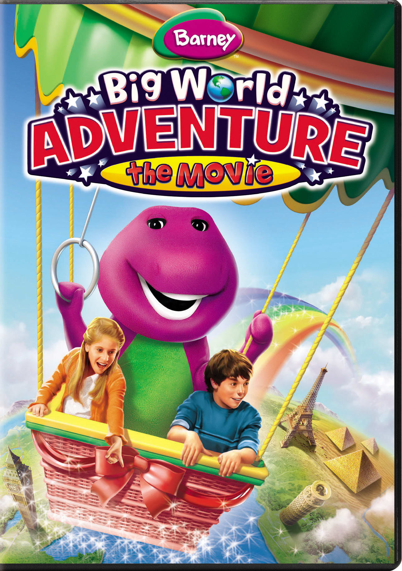 Barney: Big World Adventure - The Movie [DVD]