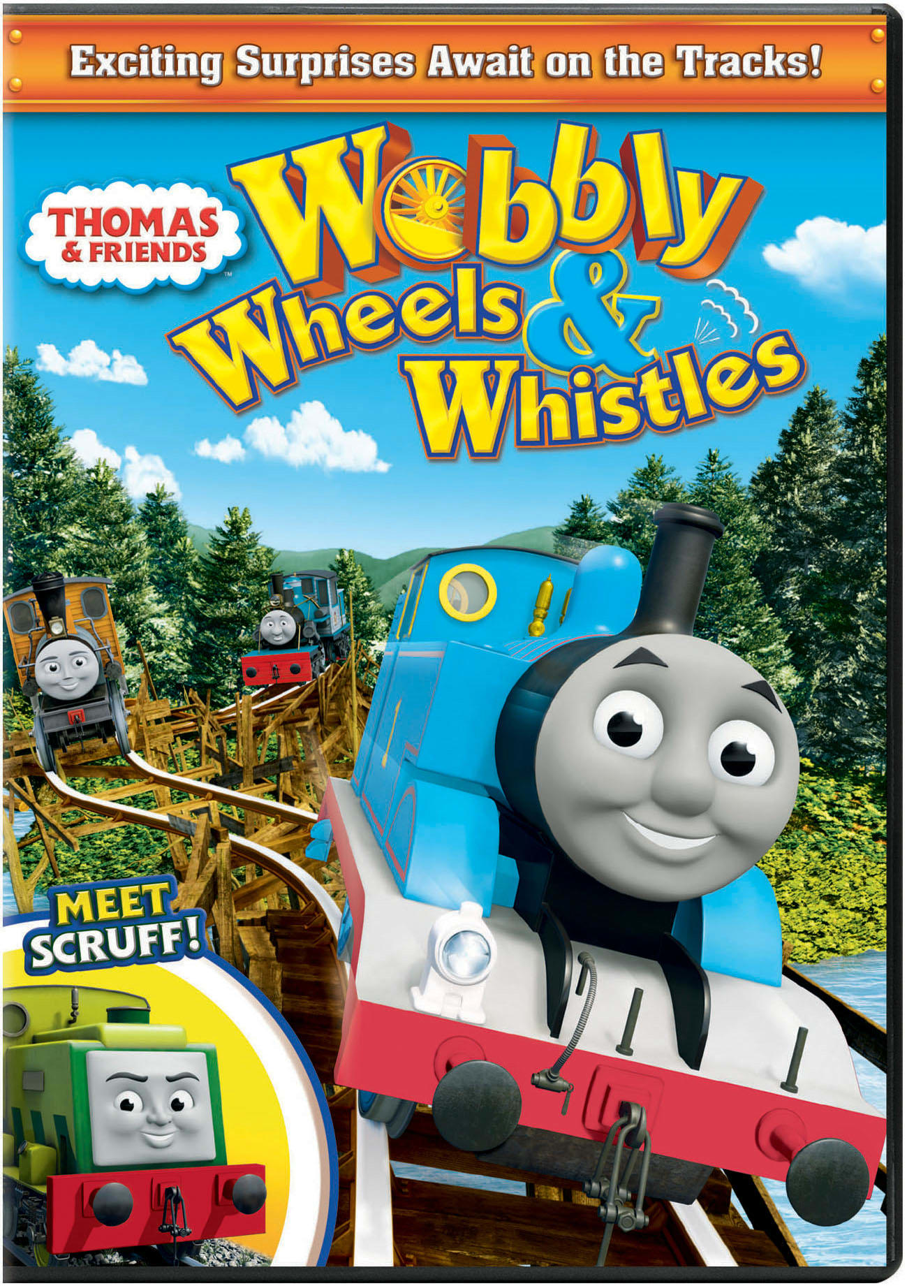 Thomas the Tank Engine and Friends: Wobbly Wheels and Whistles [DVD]