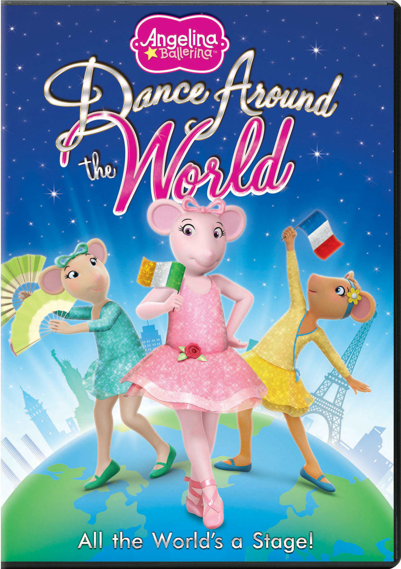 Angelina Ballerina: Dance Around the World [DVD]