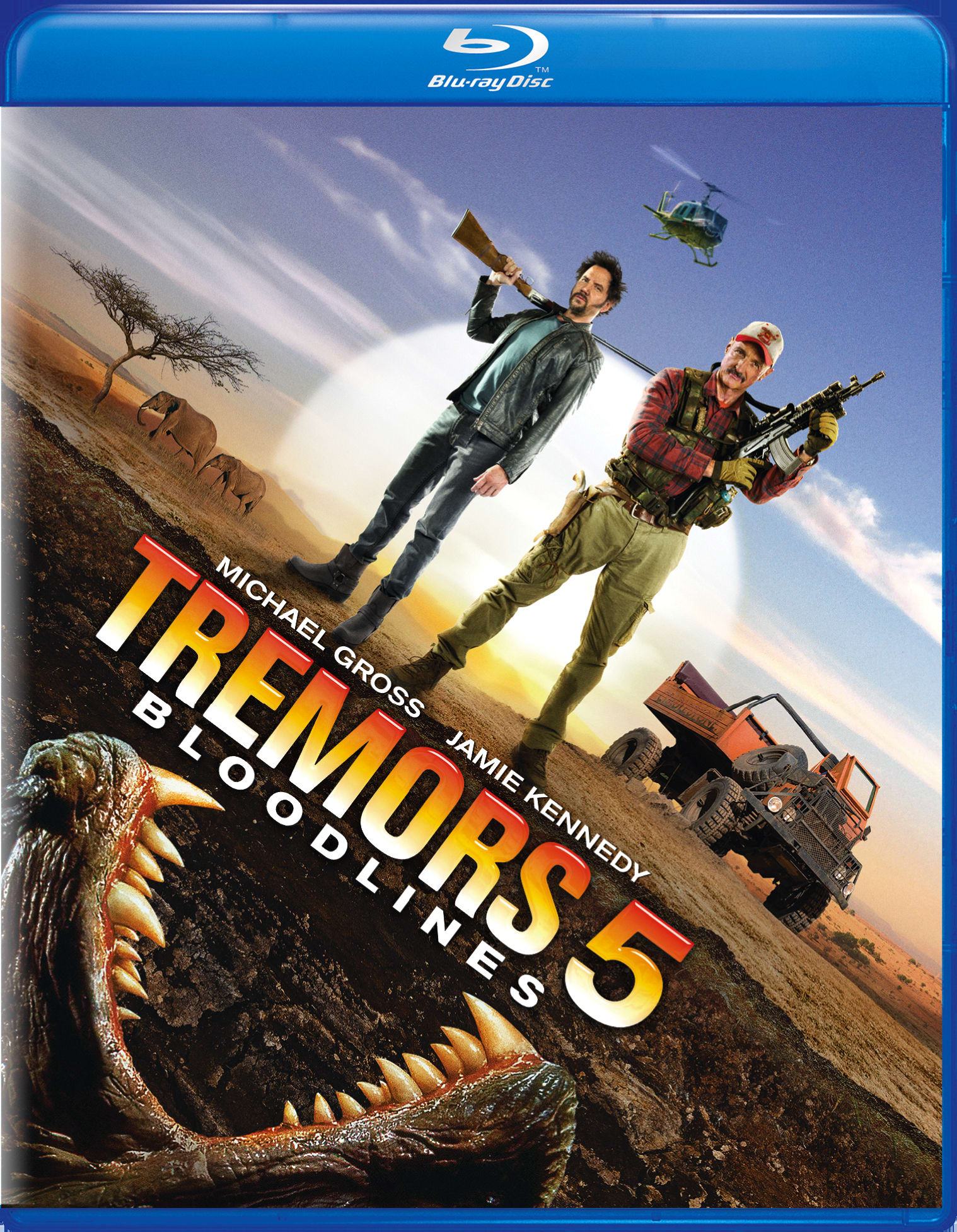 Tremors 5 - Bloodlines [Blu-ray]