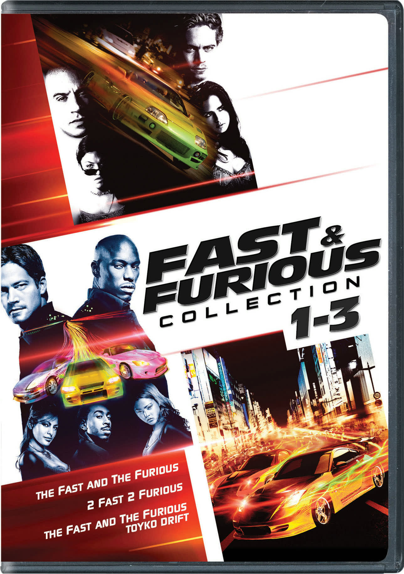 Fast & Furious Collection: 1-3 (Box Set) [DVD]