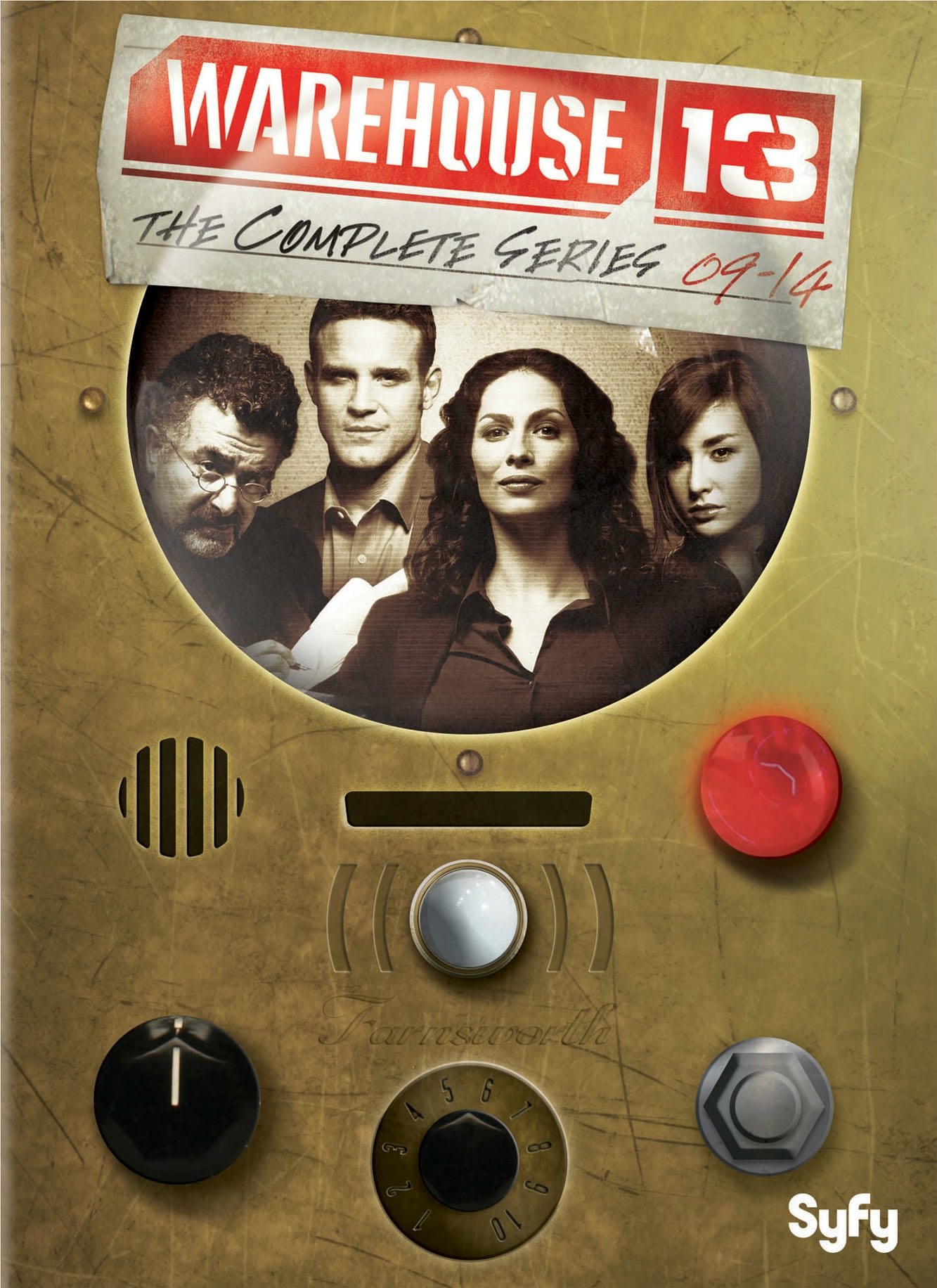 Warehouse 13: The Complete Series [DVD]