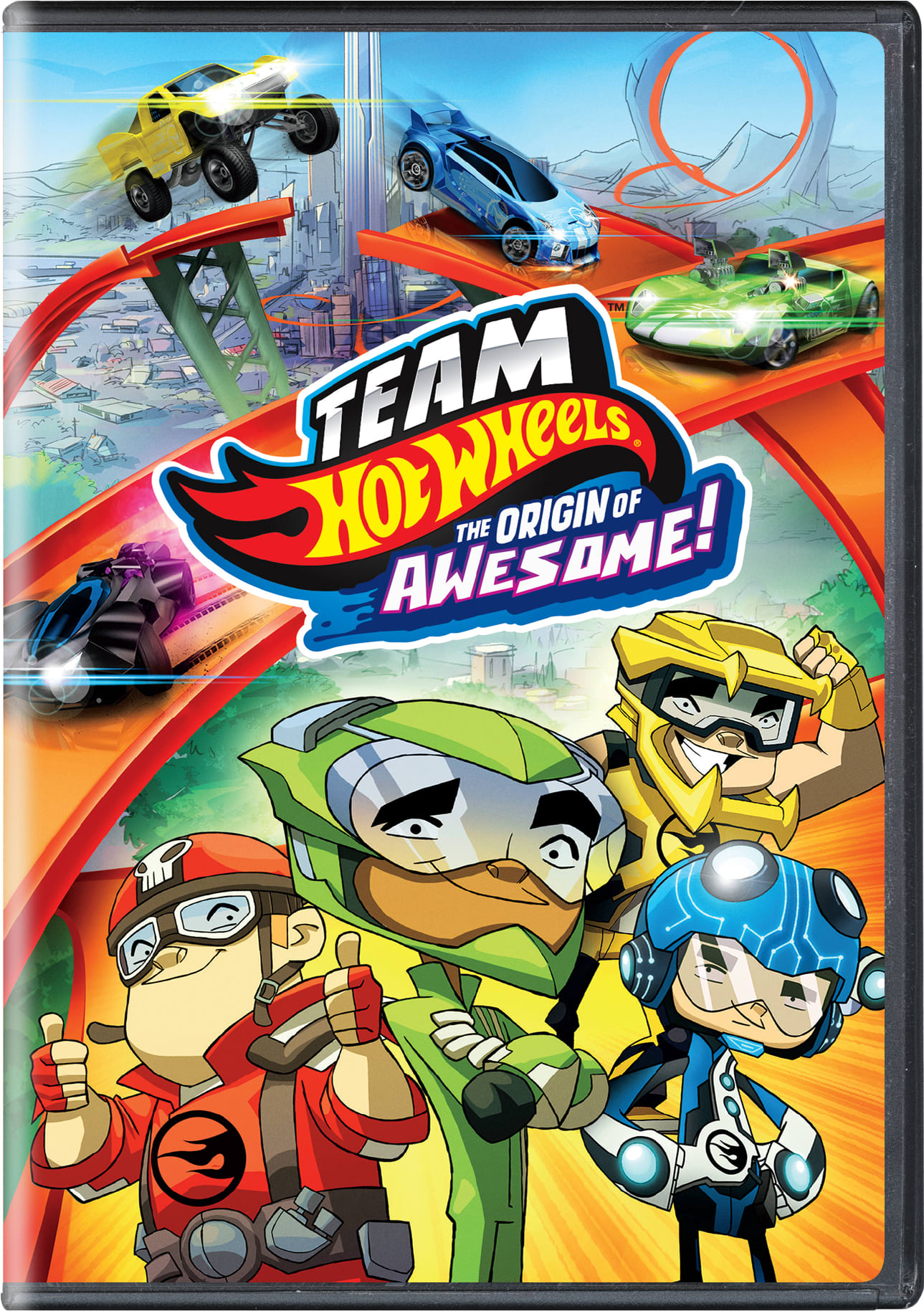 Team Hot Wheels: The Origin of Awesome! [DVD]