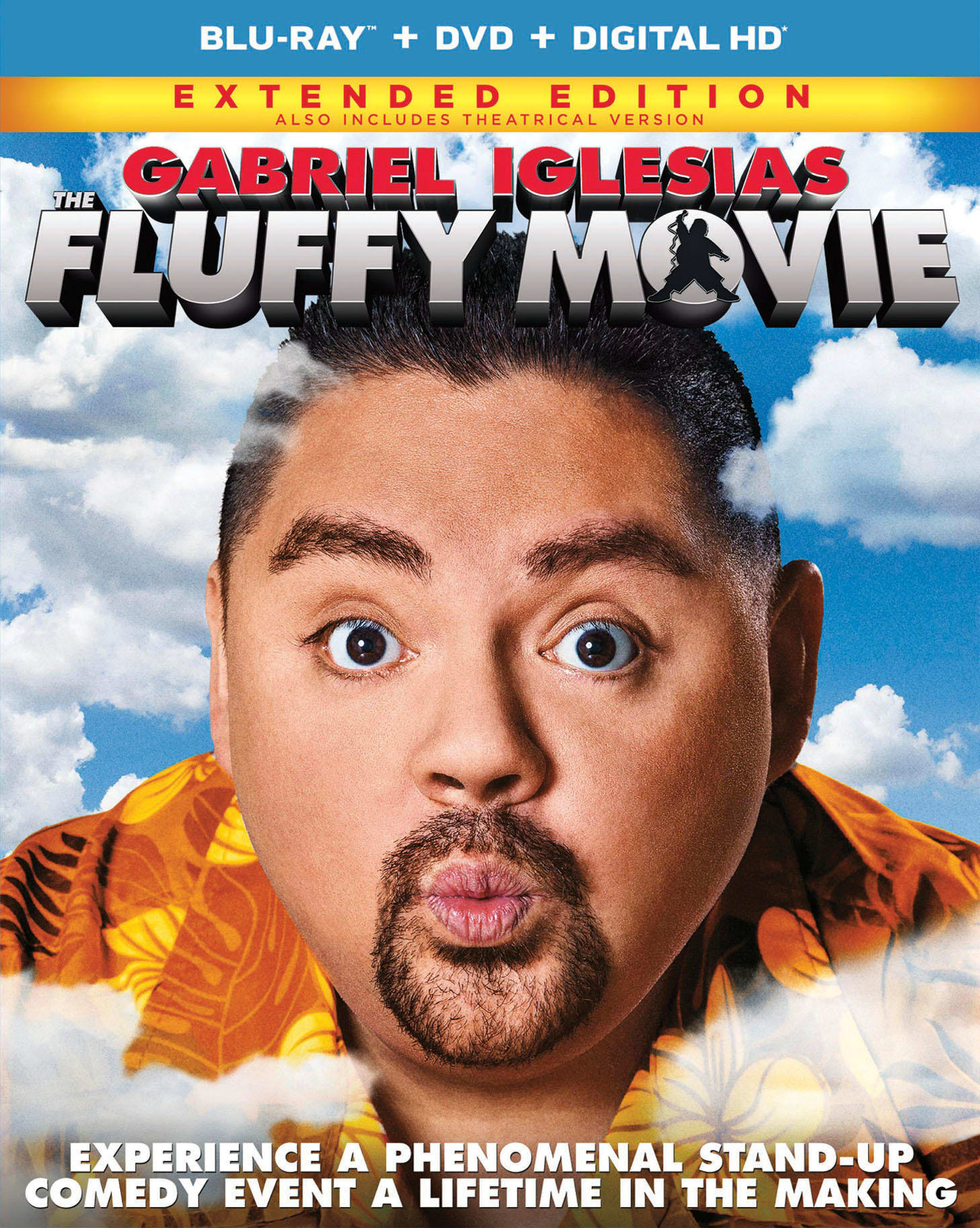 The Fluffy Movie (Extended Edition DVD + Digital) [Blu-ray]
