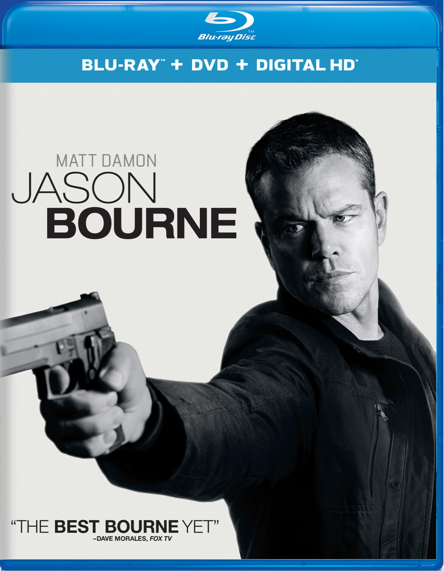 Jason Bourne (DVD + Digital) [Blu-ray]