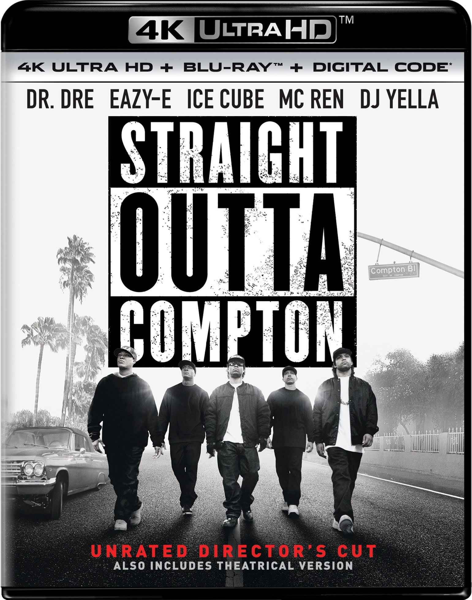 Straight Outta Compton (4K Ultra HD) [UHD]