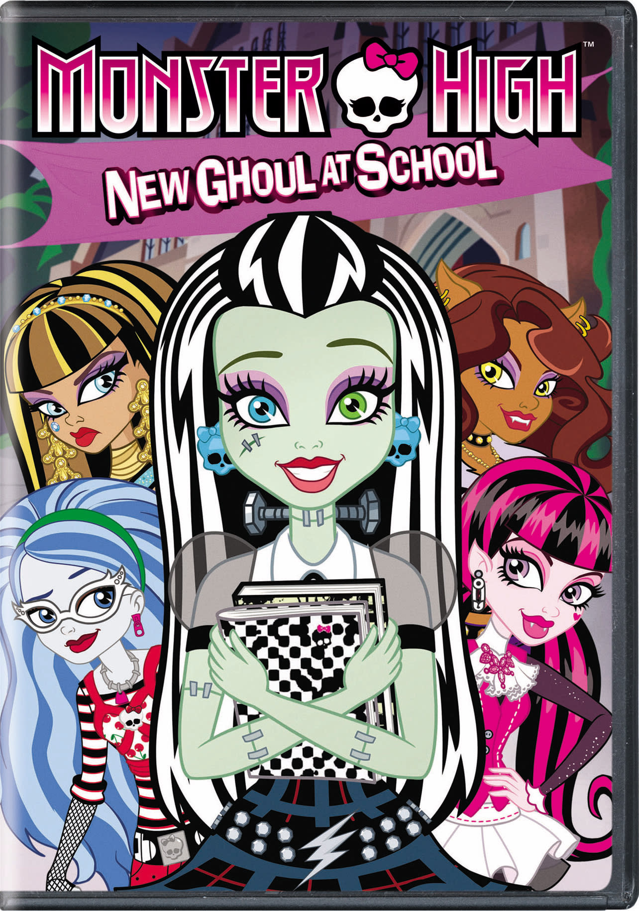 Monster High: New Ghoul at School [DVD]